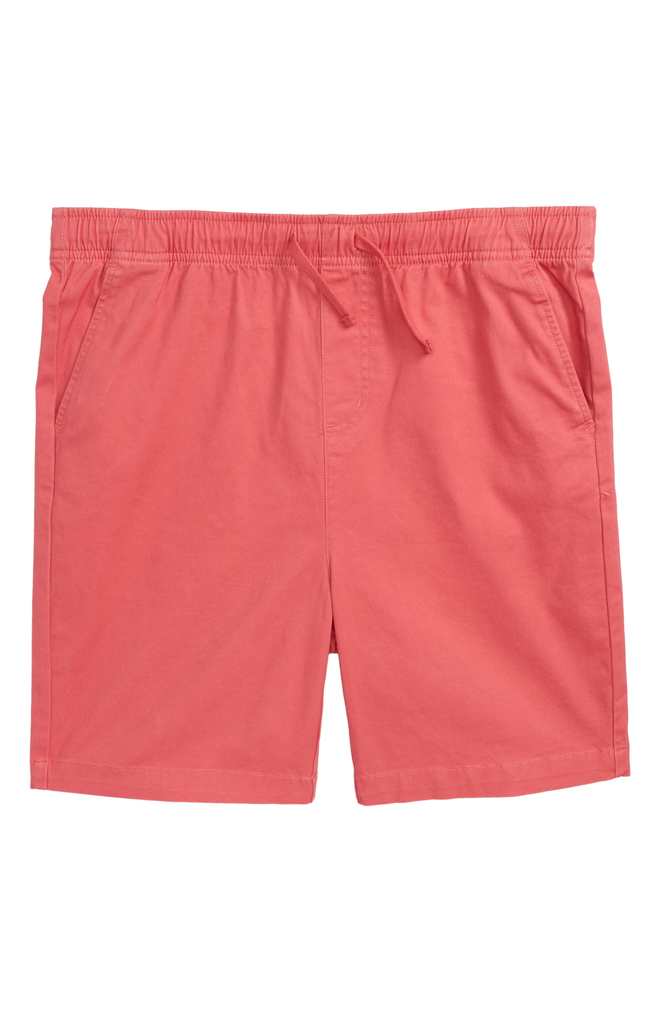 Stretch Jetty Shorts,                             Main thumbnail 1, color,                             Jetty Red