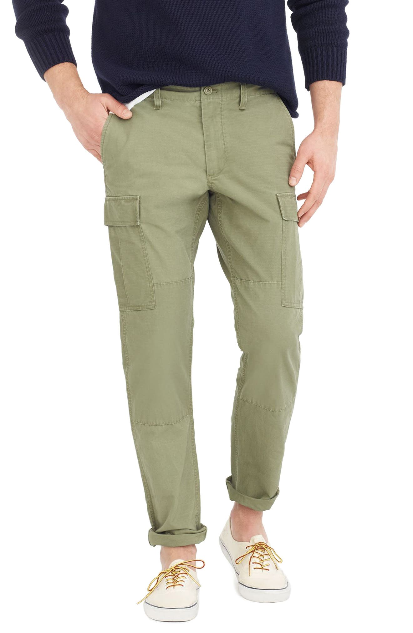 Alternate Image 1 Selected - J.Crew 770 Straight Fit Ripstop Cargo Pants