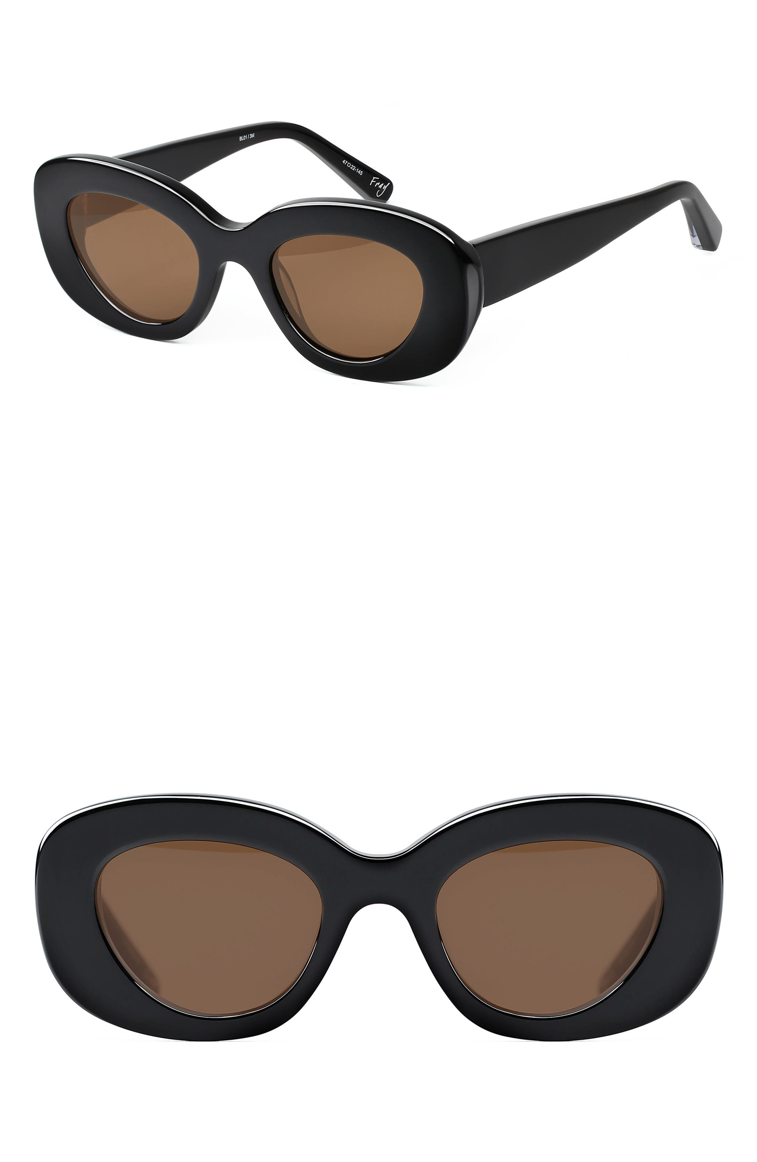 Elizabeth and James Fray 47mm Cat Eye Sunglasses