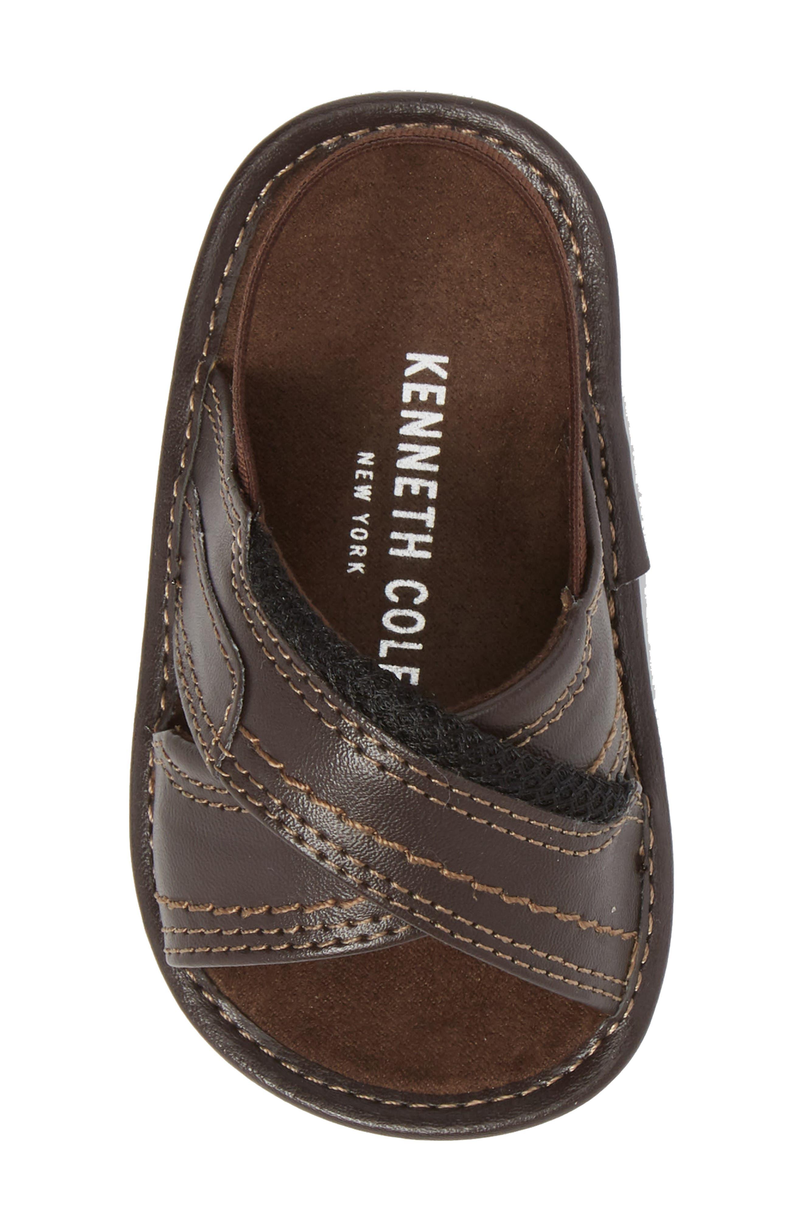 Alternate Image 5  - Kenneth Cole New York Leaf Sandal (Baby)