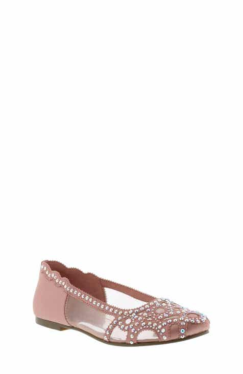 1e64c13395fd Badgley Mischka Gigi Embellished Flat (Toddler