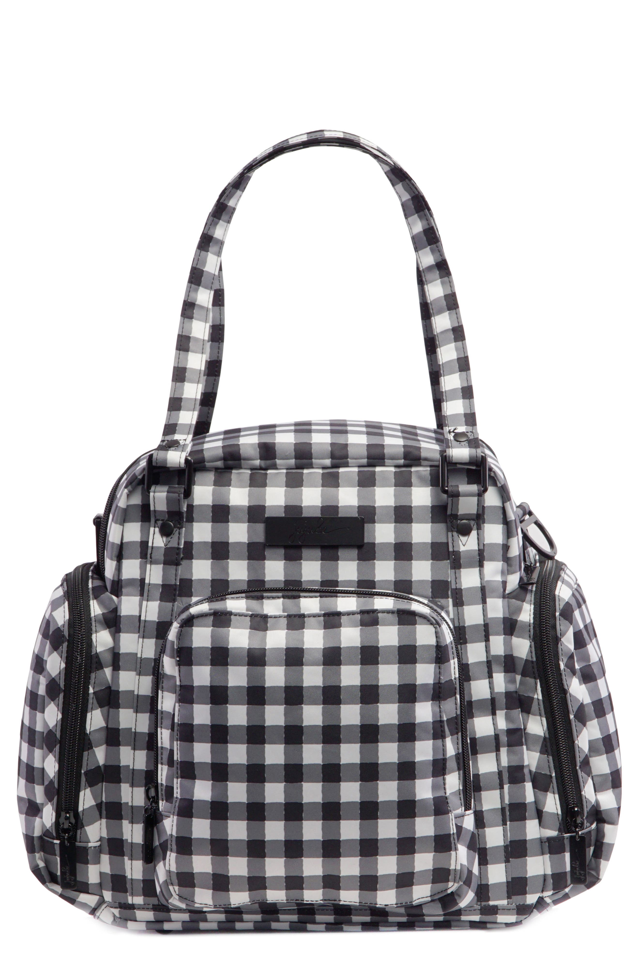 Onyx Be Supplied Pumping Bag,                             Main thumbnail 1, color,                             Gingham Style