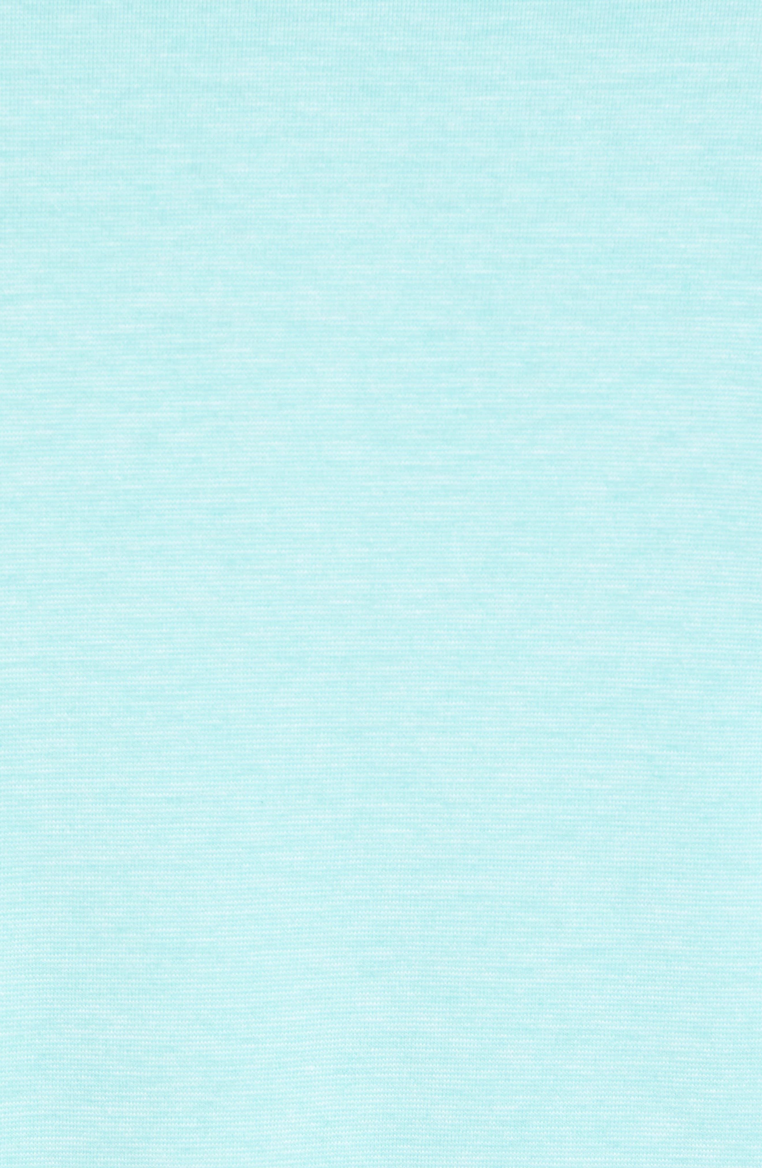 Edgartown Solid Stretch Polo,                             Alternate thumbnail 5, color,                             Capri Blue