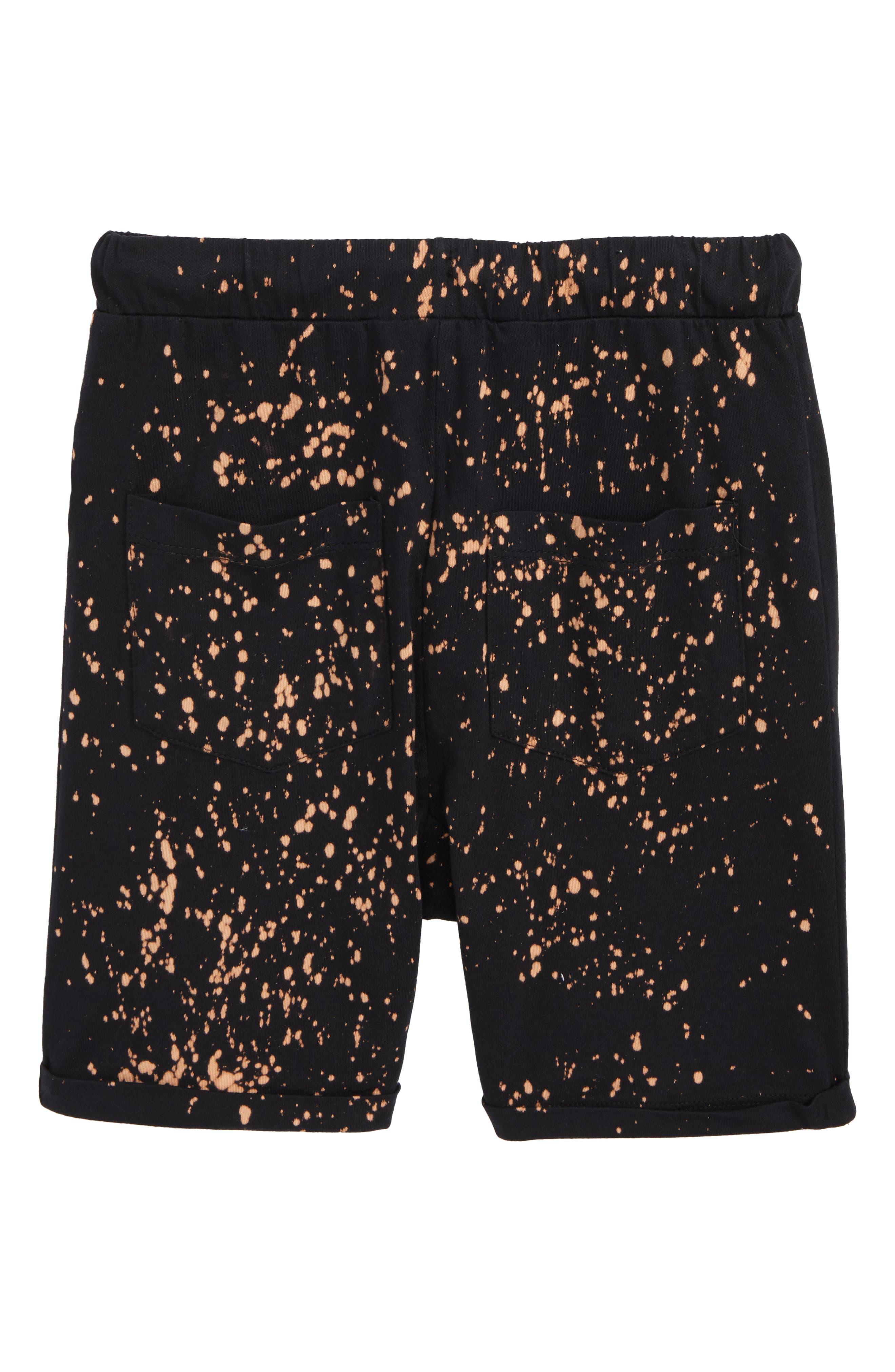 Avalon Knit Shorts,                             Alternate thumbnail 2, color,                             Black