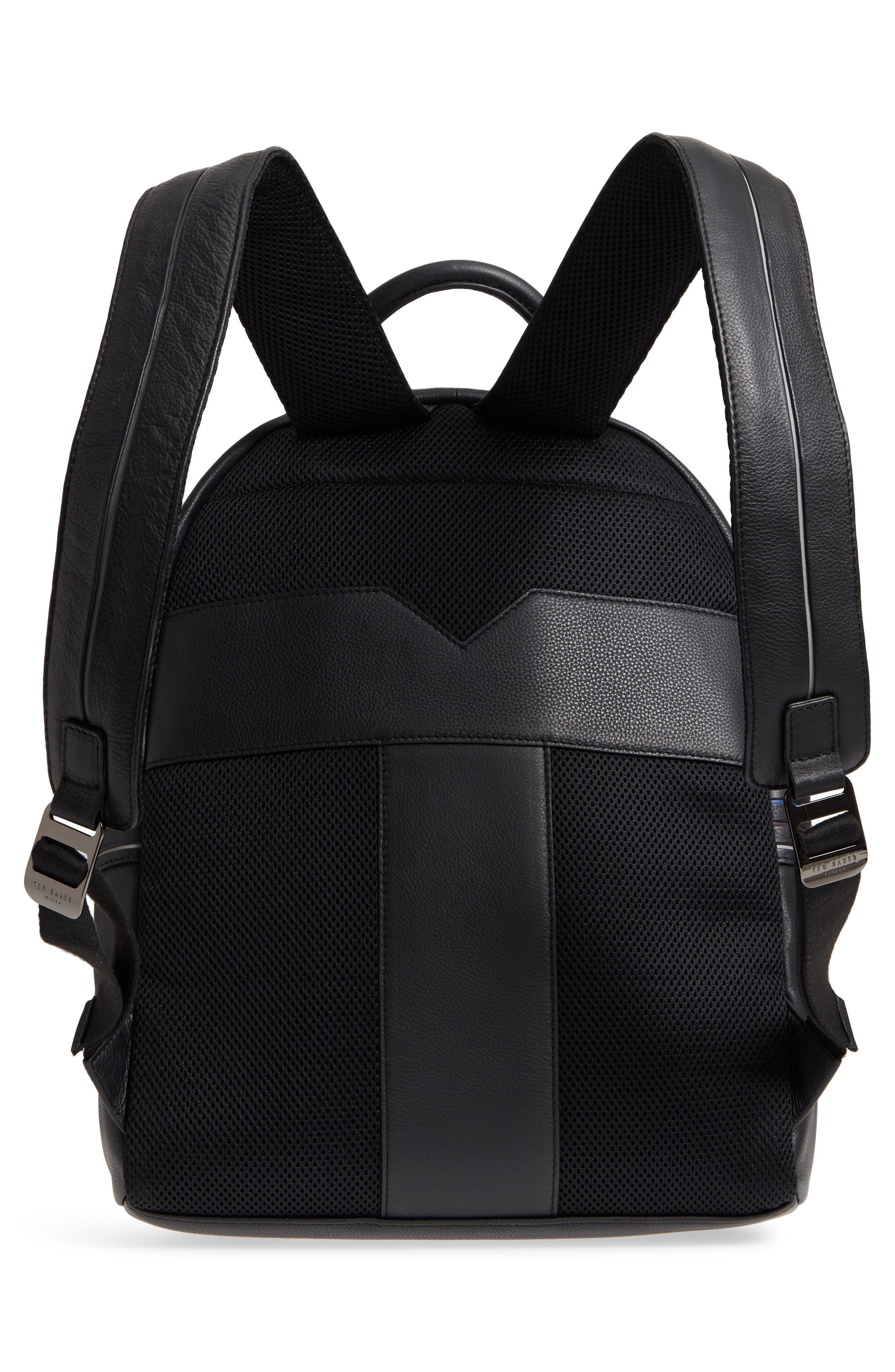 Huntman Stripe Backpack,                             Alternate thumbnail 3, color,                             Black