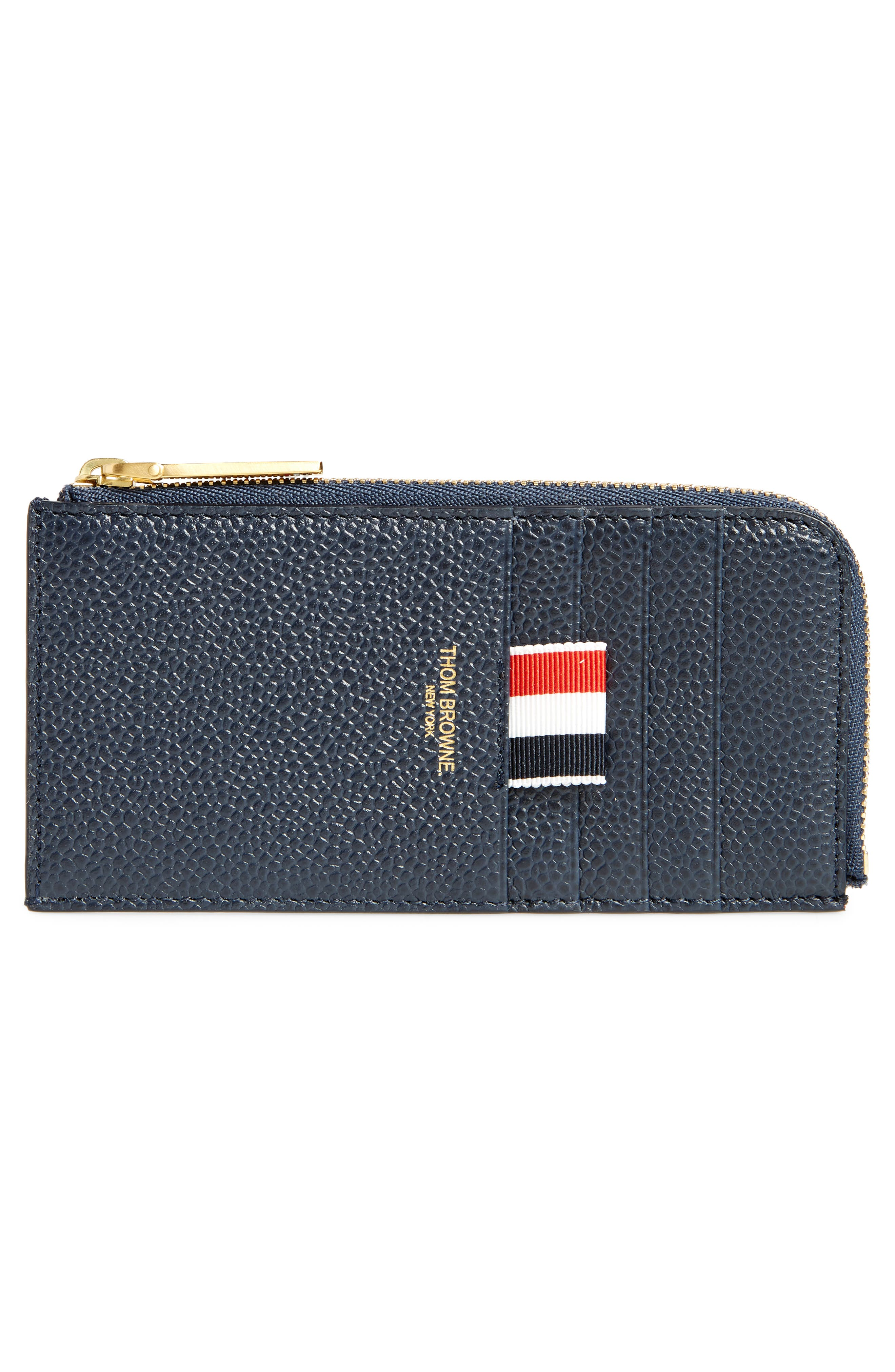 Alternate Image 2  - Thom Browne Zip Card Case