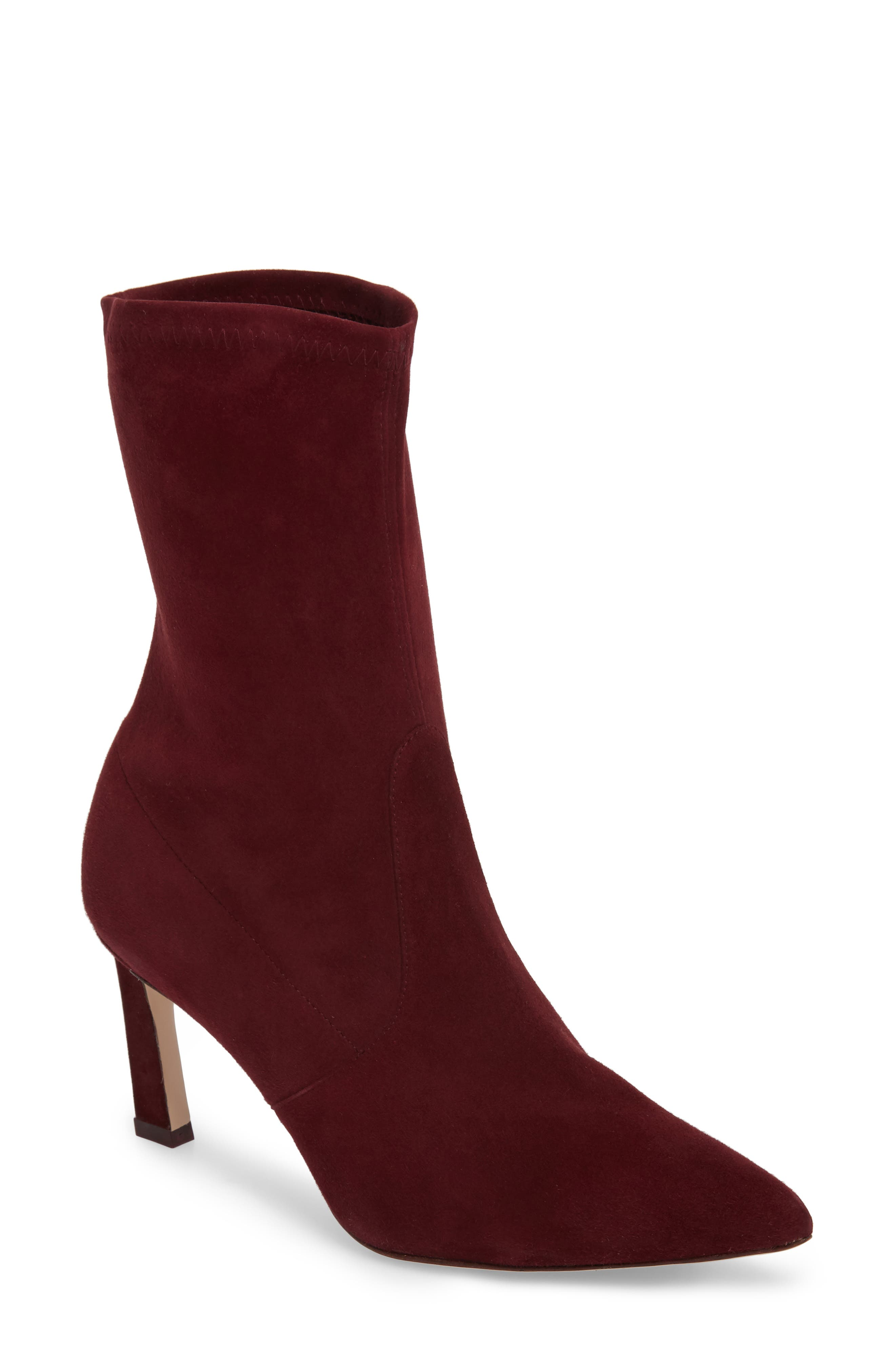 Rapture 75 Bootie,                         Main,                         color, Cabernet Suede