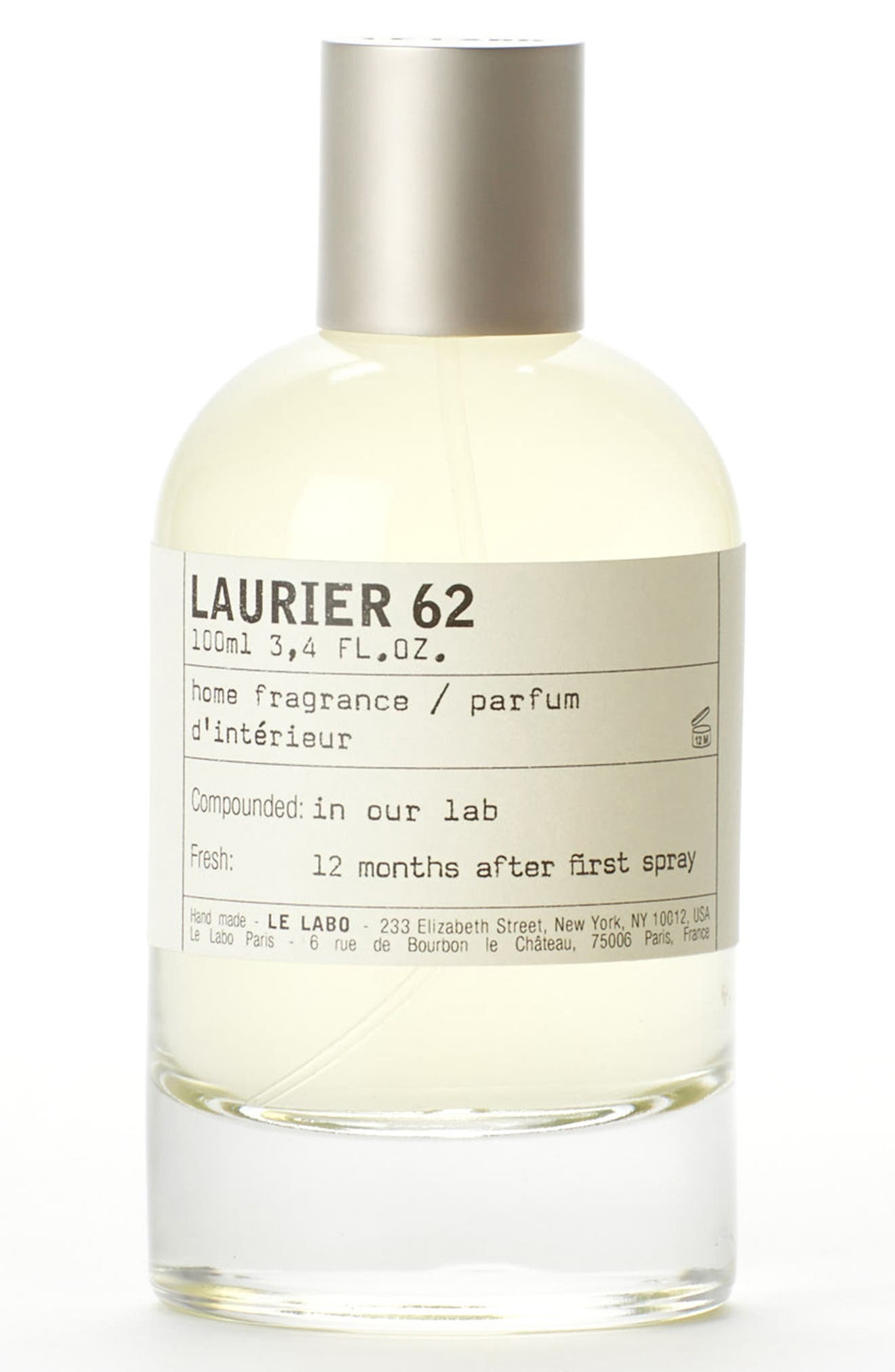 'Laurier 61' Home Fragrance Spray,                             Main thumbnail 1, color,                             No Color