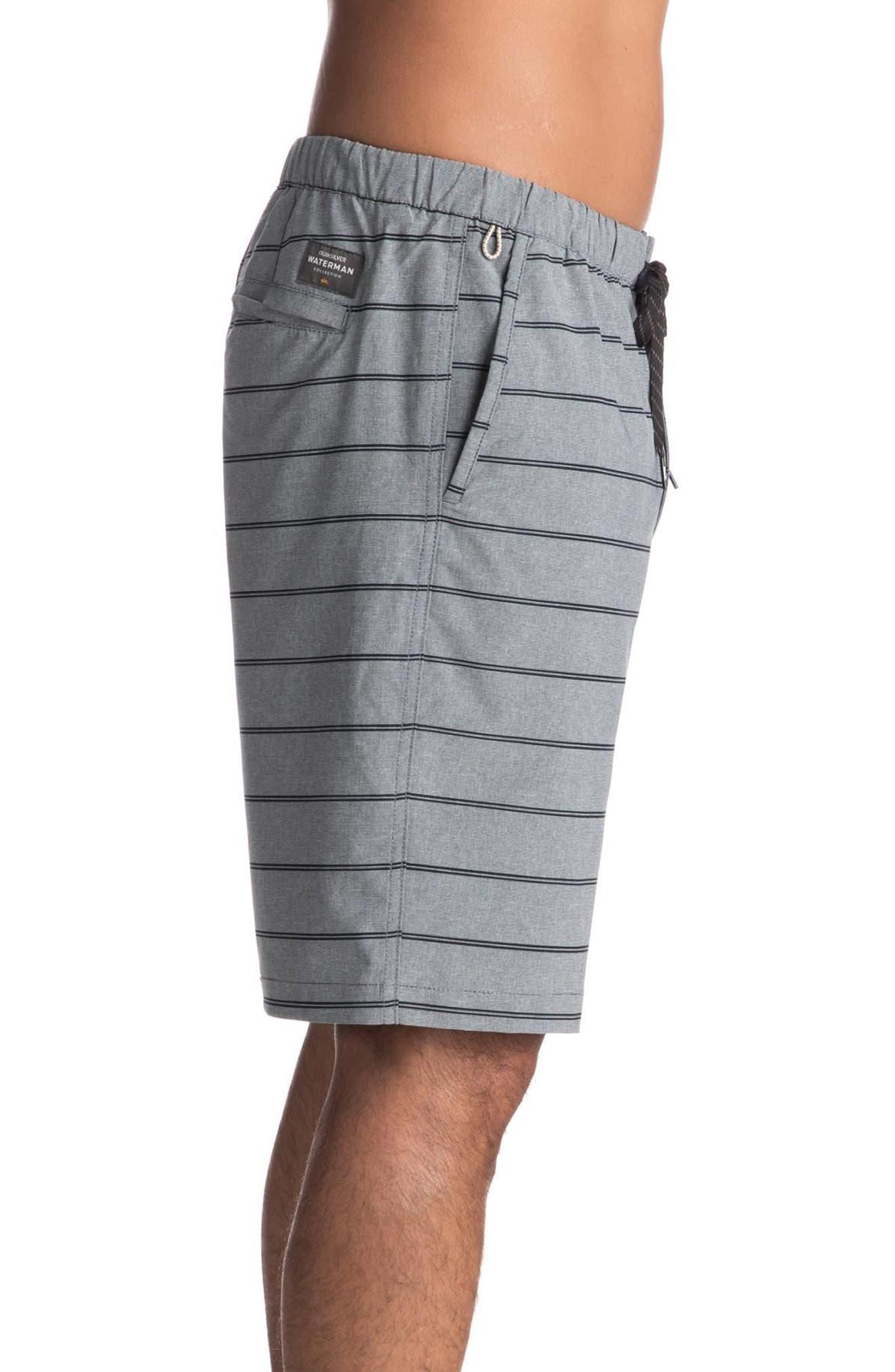 Suva Amphibian Shorts,                             Alternate thumbnail 3, color,                             Black