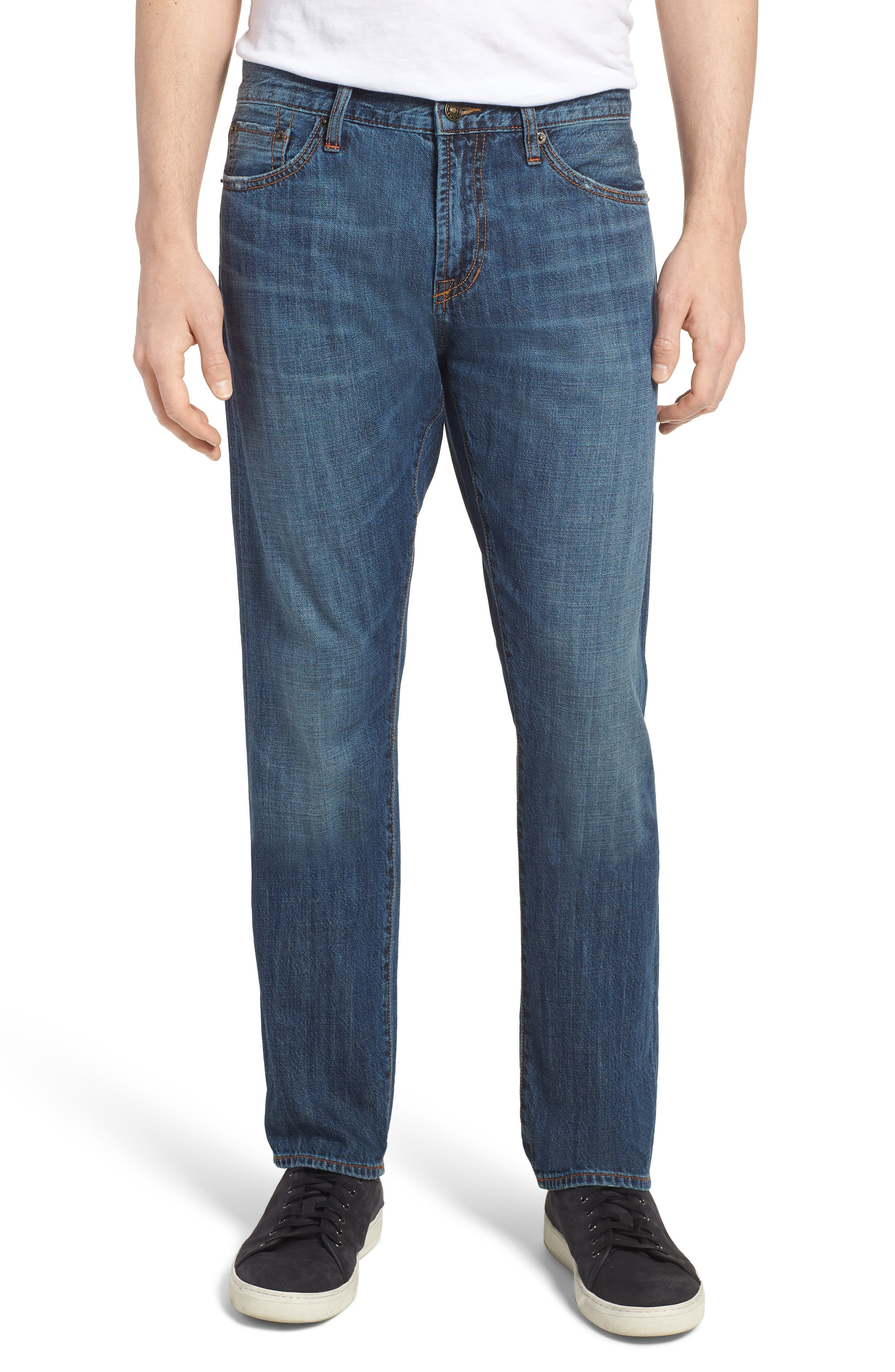 Jim Slim Fit Jeans,                         Main,                         color, Greenwood