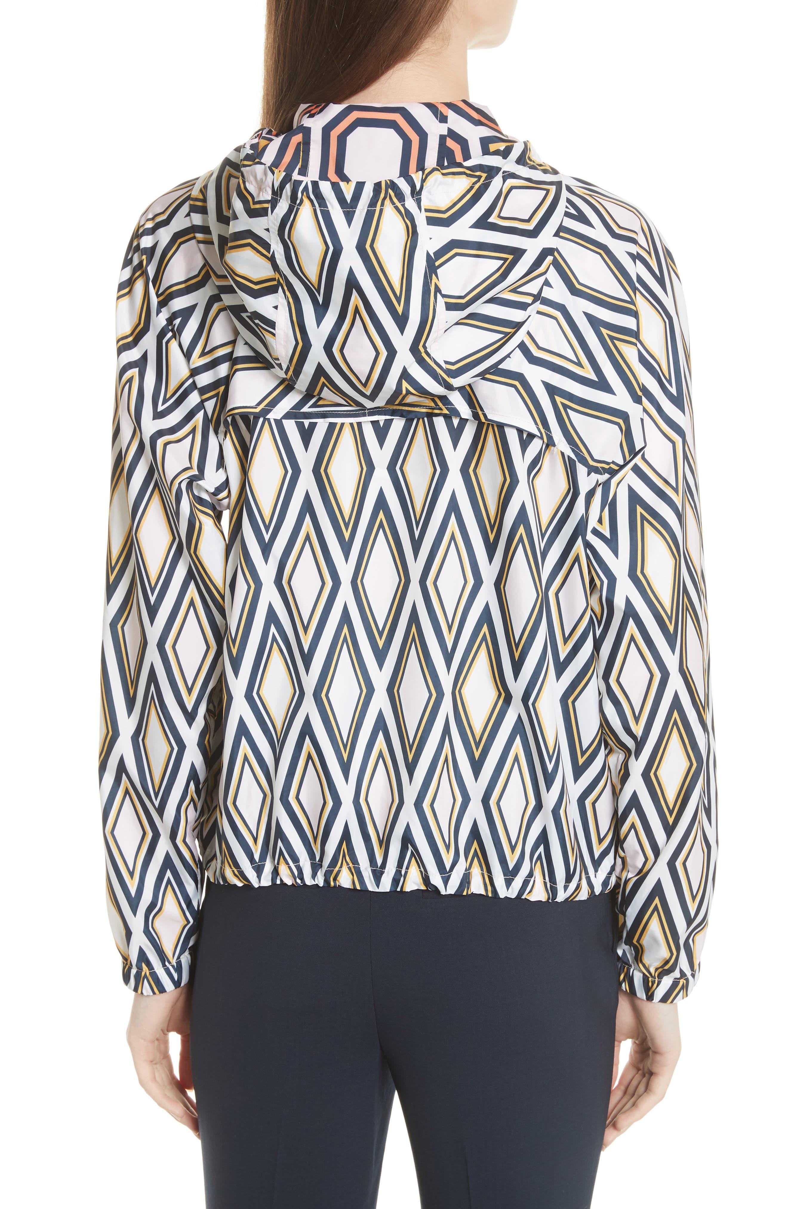Devon Hooded Jacket,                             Alternate thumbnail 2, color,                             Solitaire Diamond