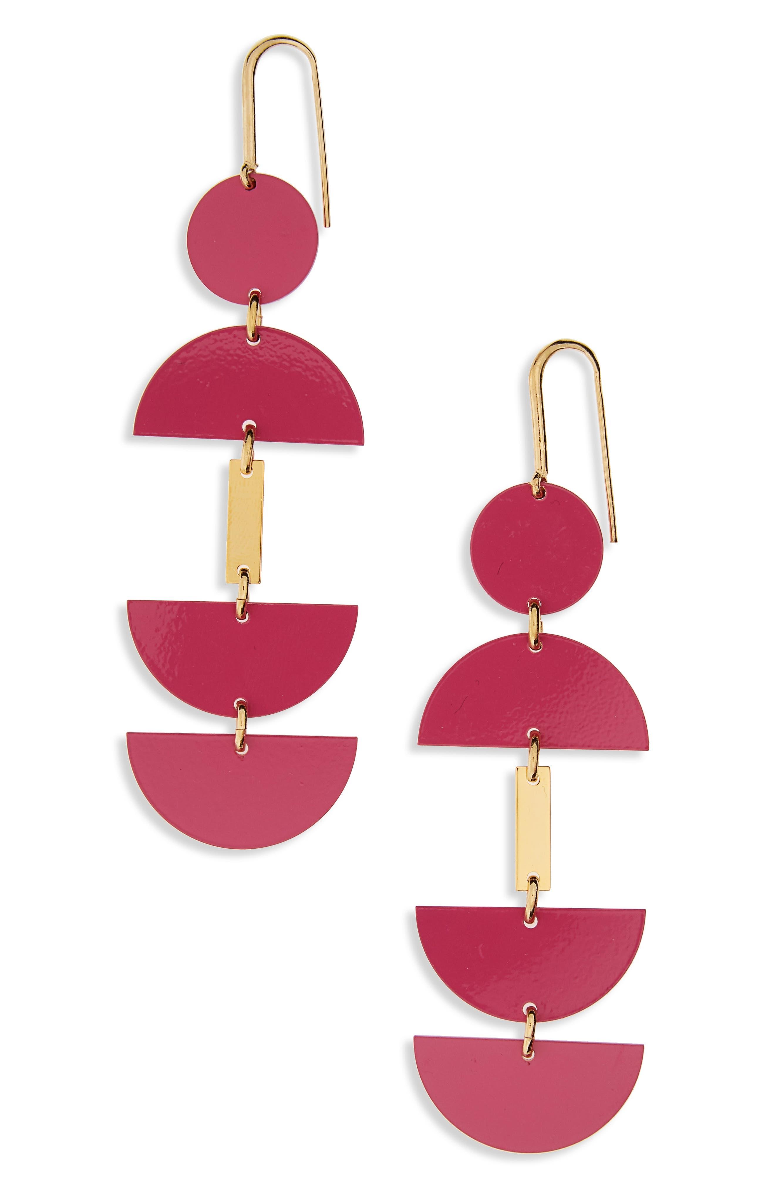 Isabel Marant Half Circle Drop Earrings