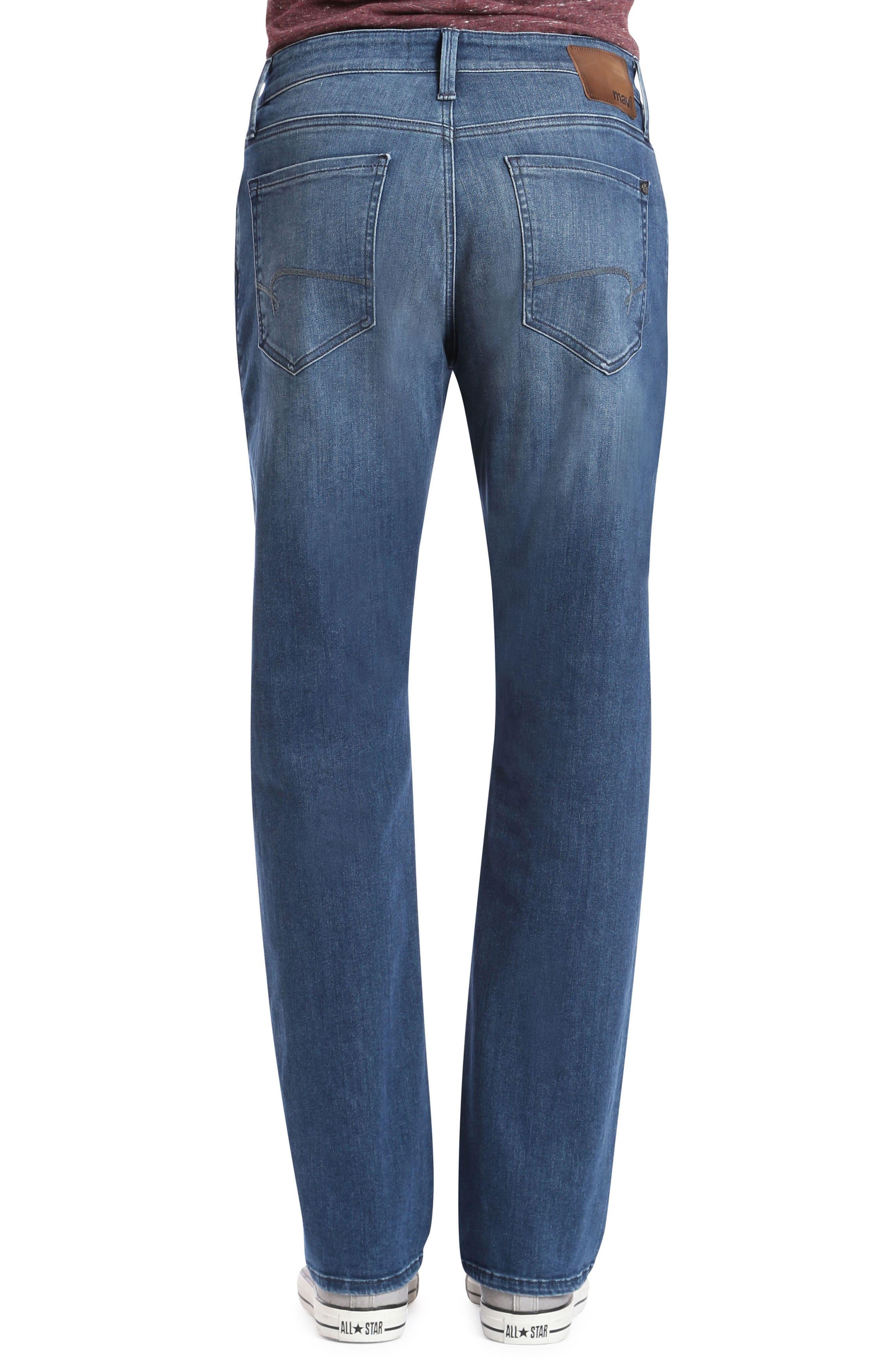 Myles Straight Leg Jeans,                             Alternate thumbnail 2, color,                             Mid Tonal Williamsburg