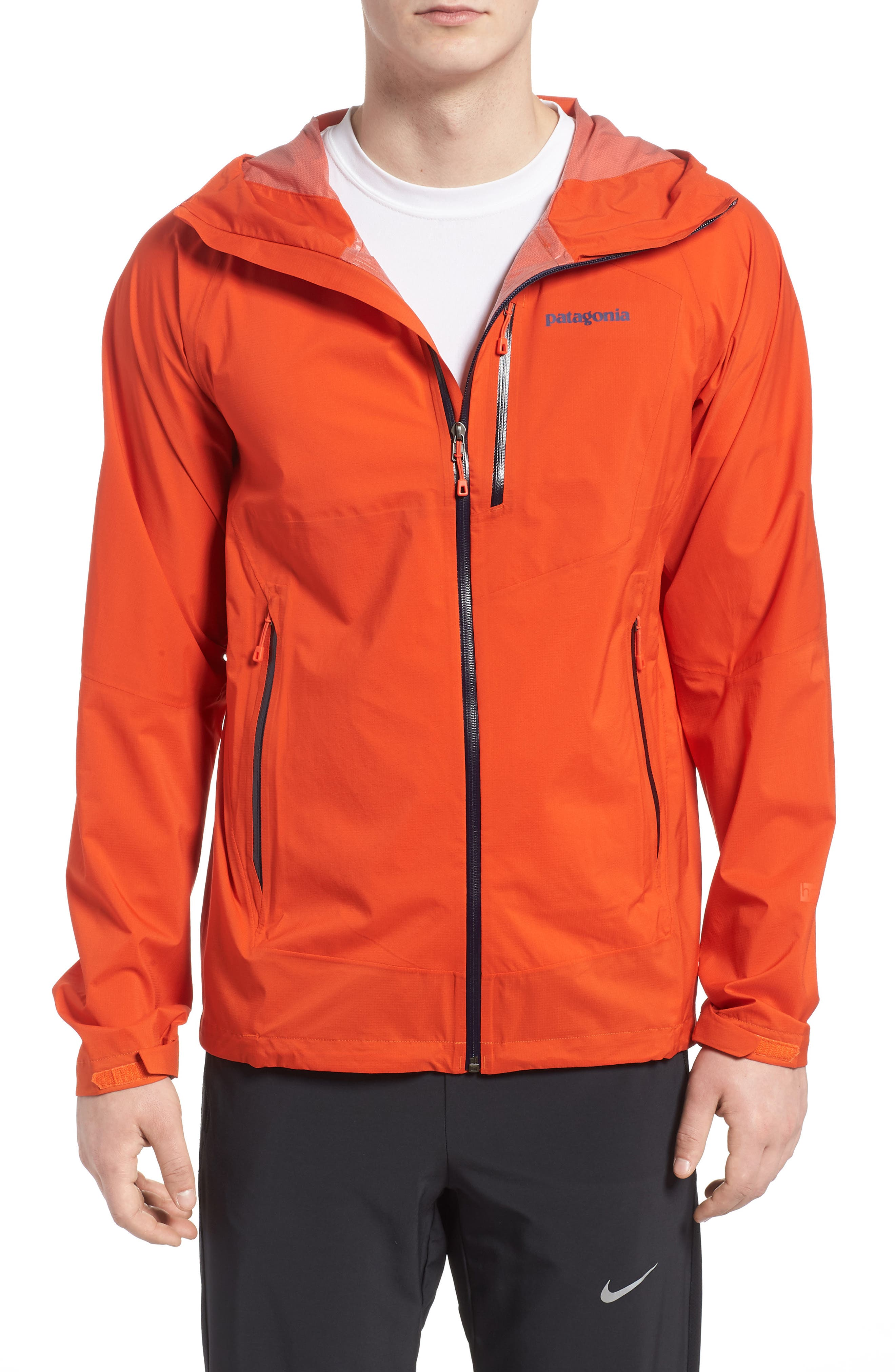 Stretch Rainshadow Jacket,                         Main,                         color, Paintbrush Red