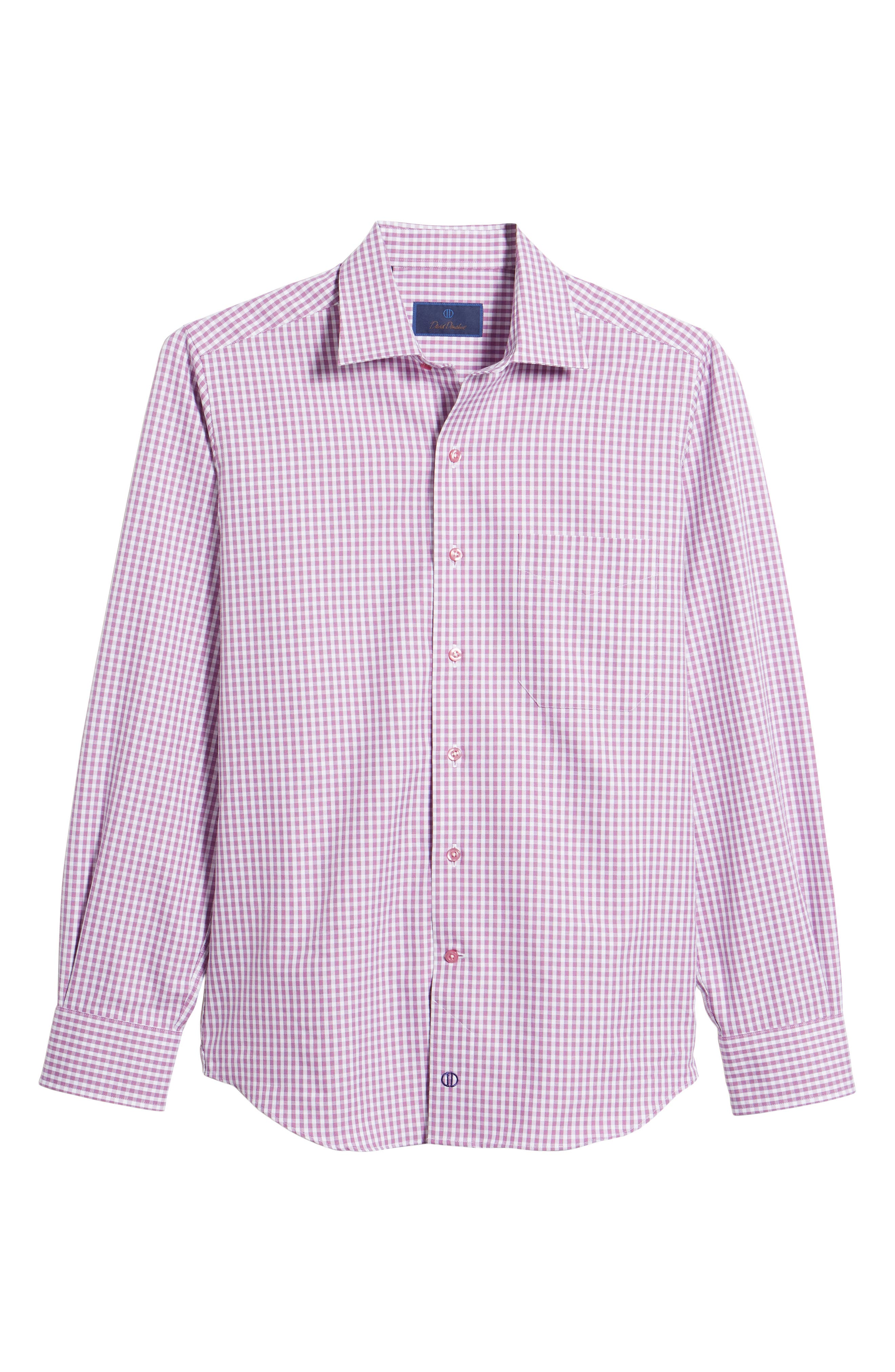 Sport Shirt,                             Alternate thumbnail 6, color,                             Purple