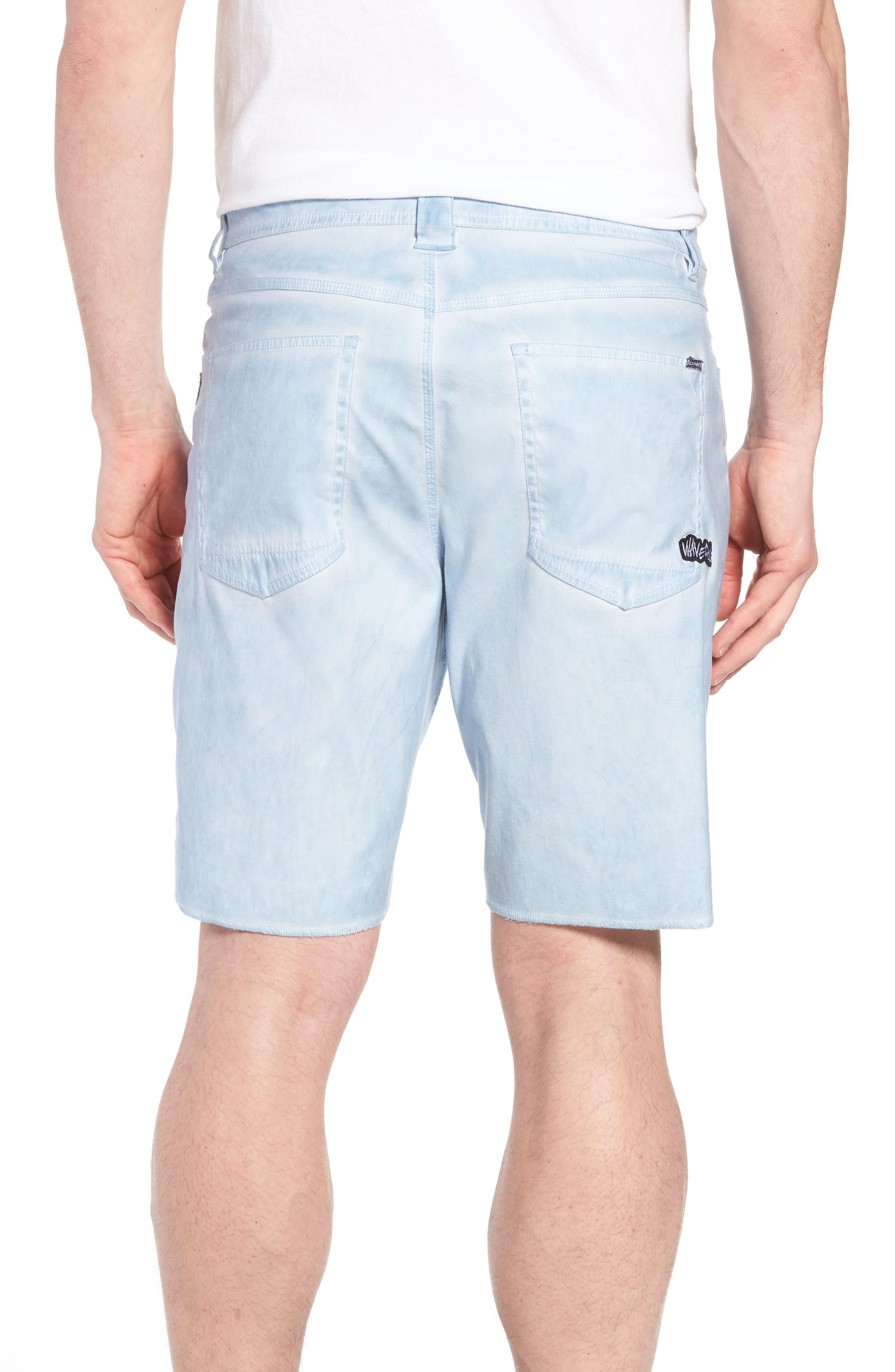 Kick Back Hybrid Shorts,                             Alternate thumbnail 2, color,                             Light Indigo