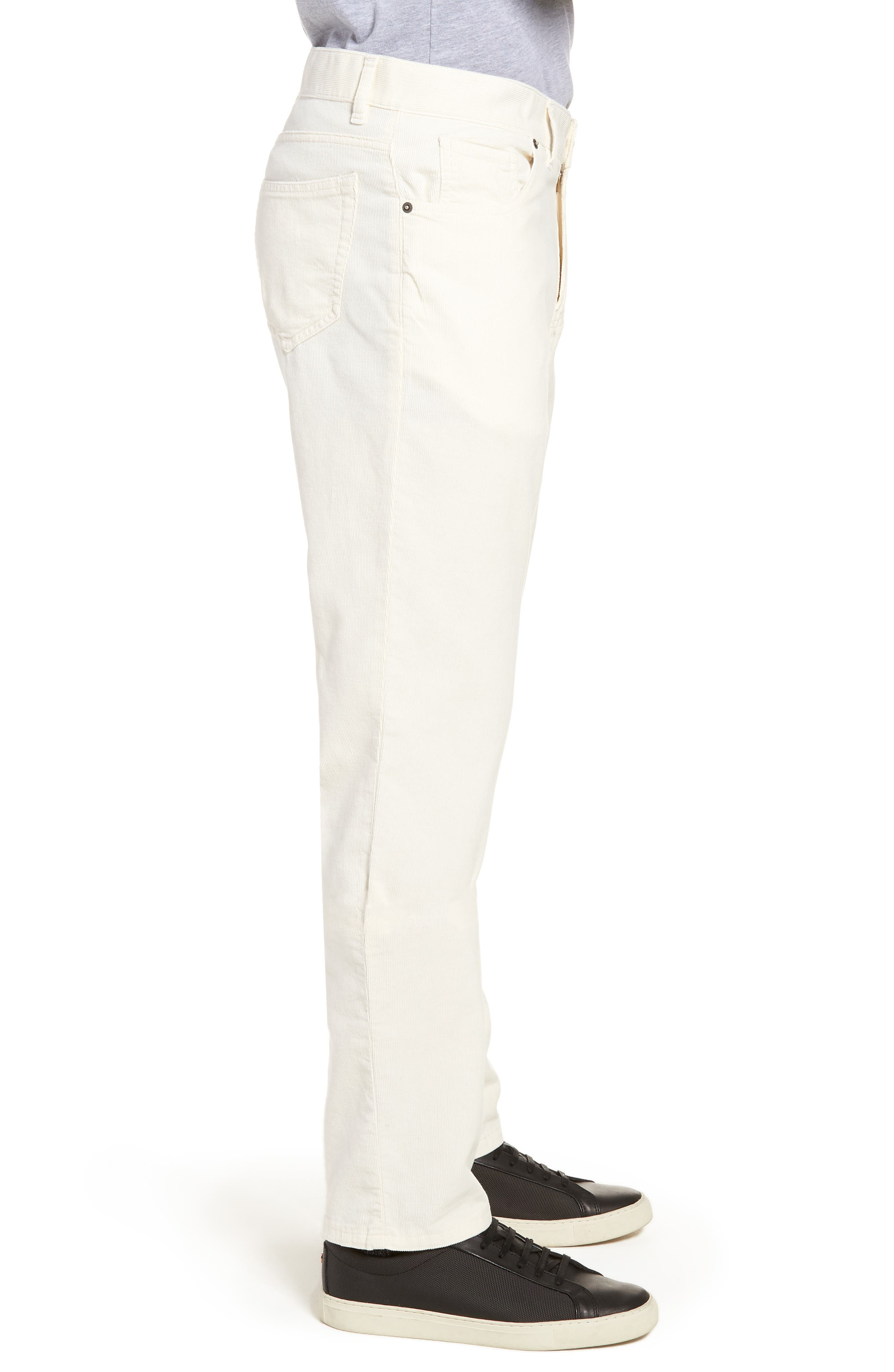 Q Cord Trousers,                             Alternate thumbnail 3, color,                             Natural
