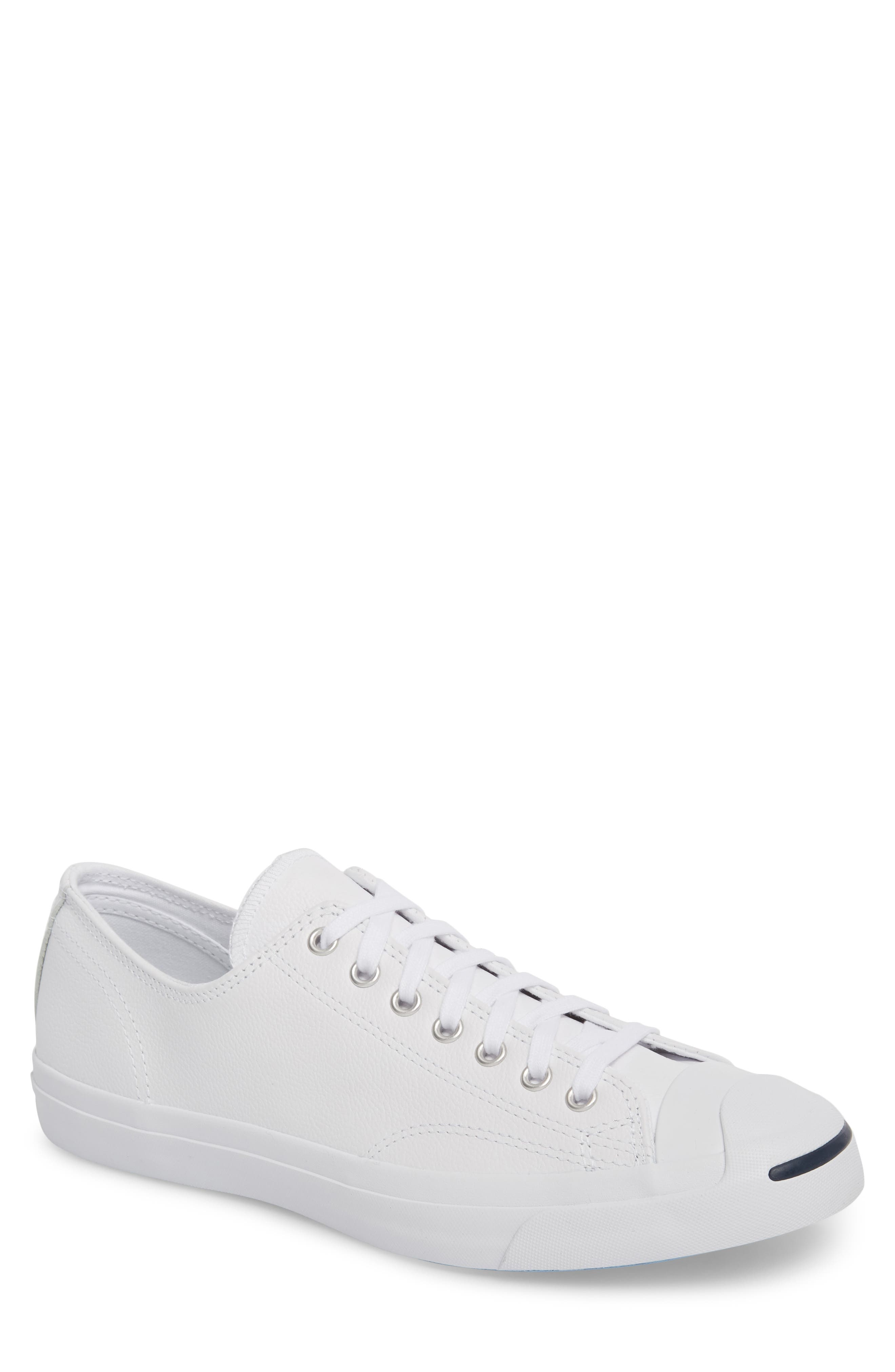 jack purcell converse men leather shoes