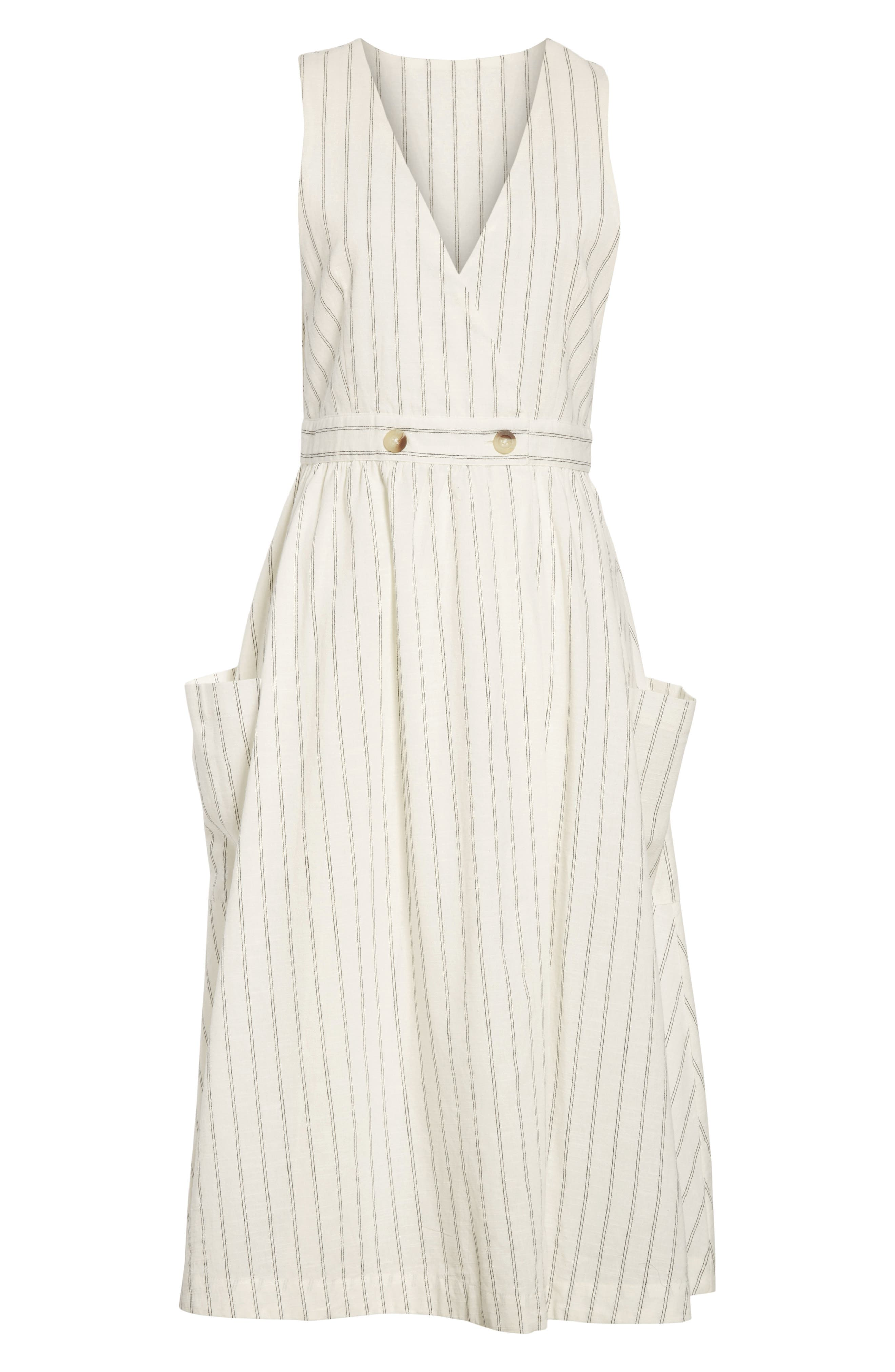 Diana Dress,                             Alternate thumbnail 6, color,                             Black Combo