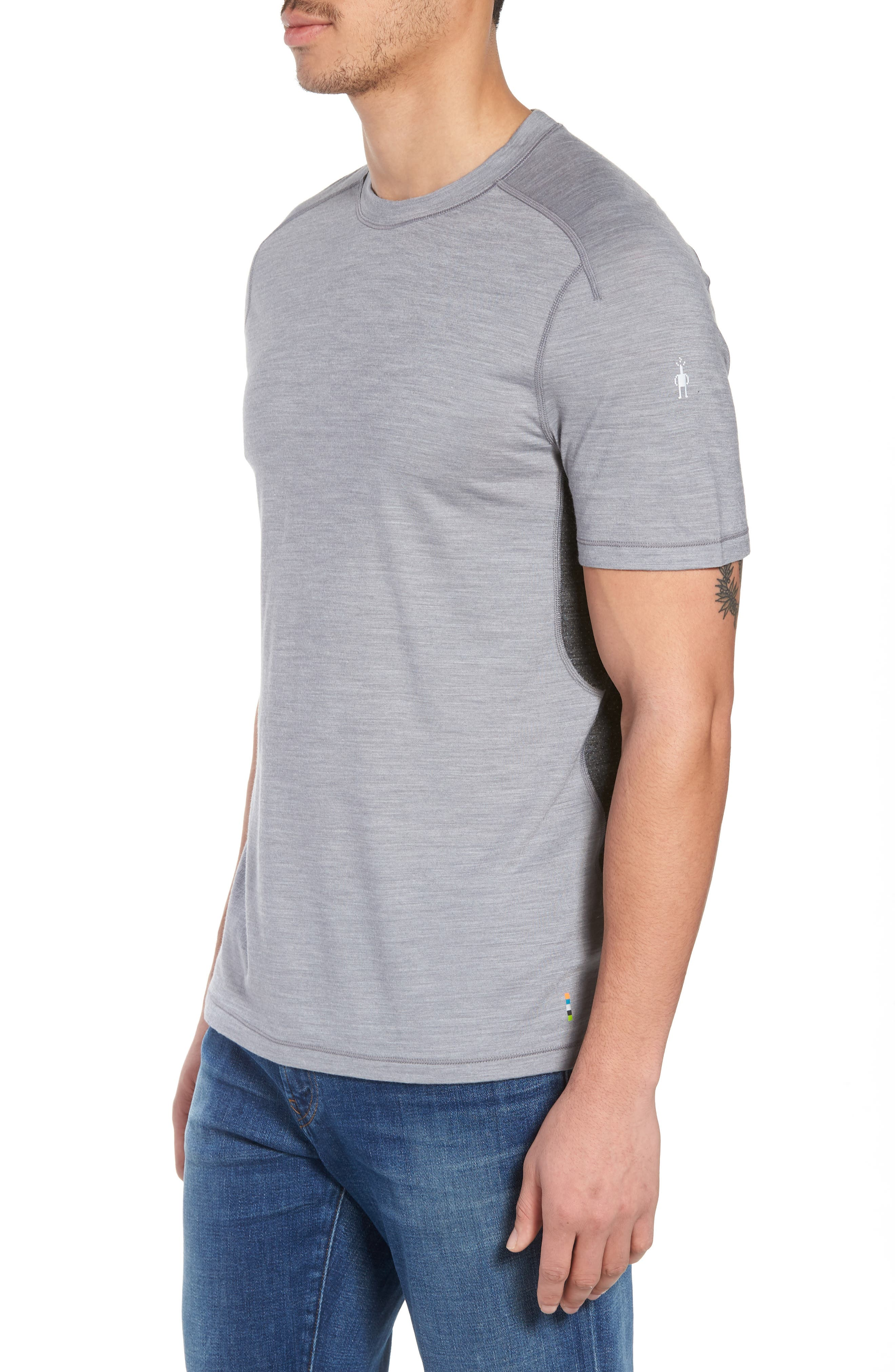 PhD<sup>®</sup> Ultra-Light T-Shirt,                             Alternate thumbnail 3, color,                             Light Gray
