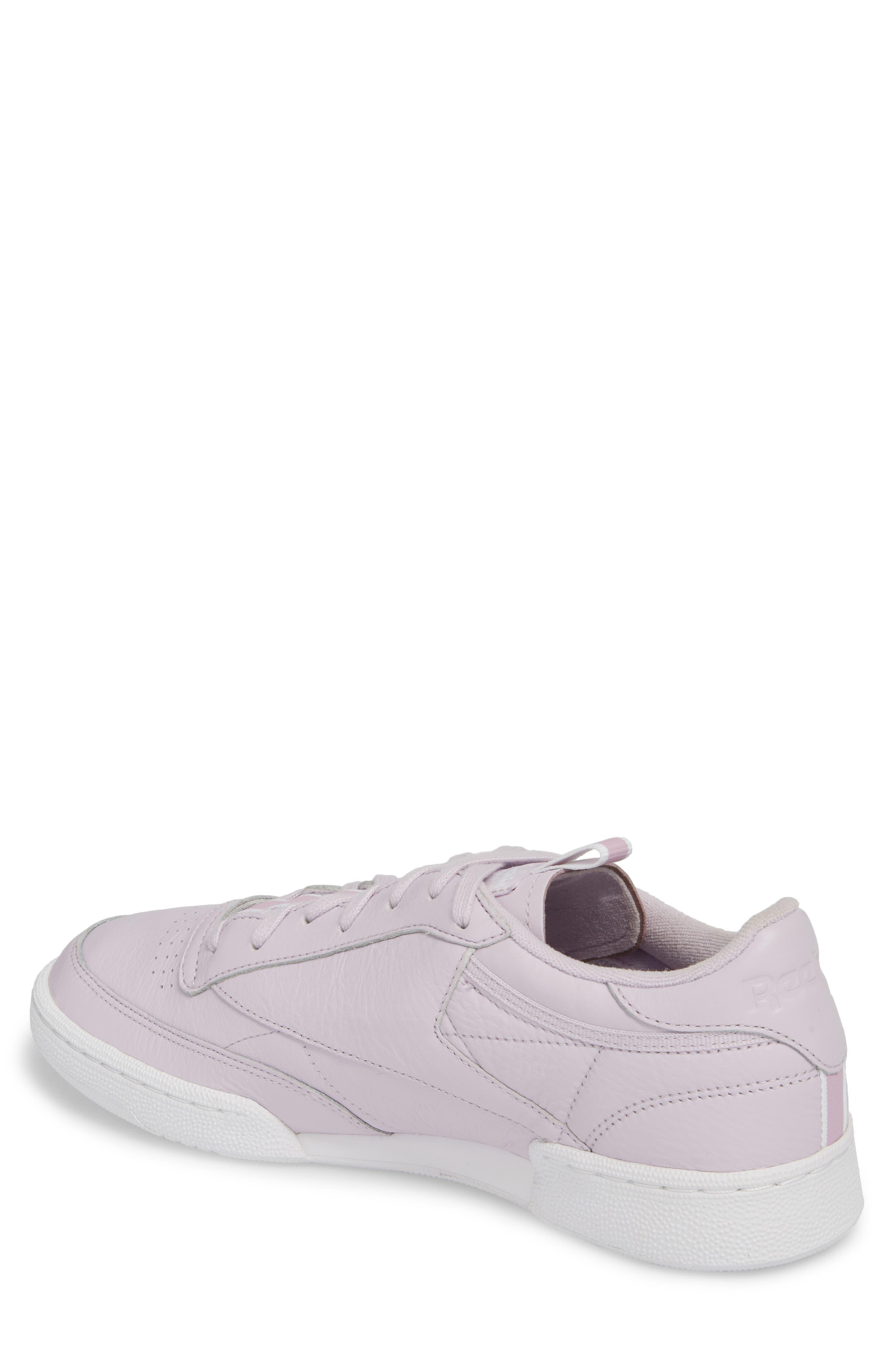 Club C 85 RT Sneaker,                             Alternate thumbnail 2, color,                             Quartz/ White/ Purple Fog