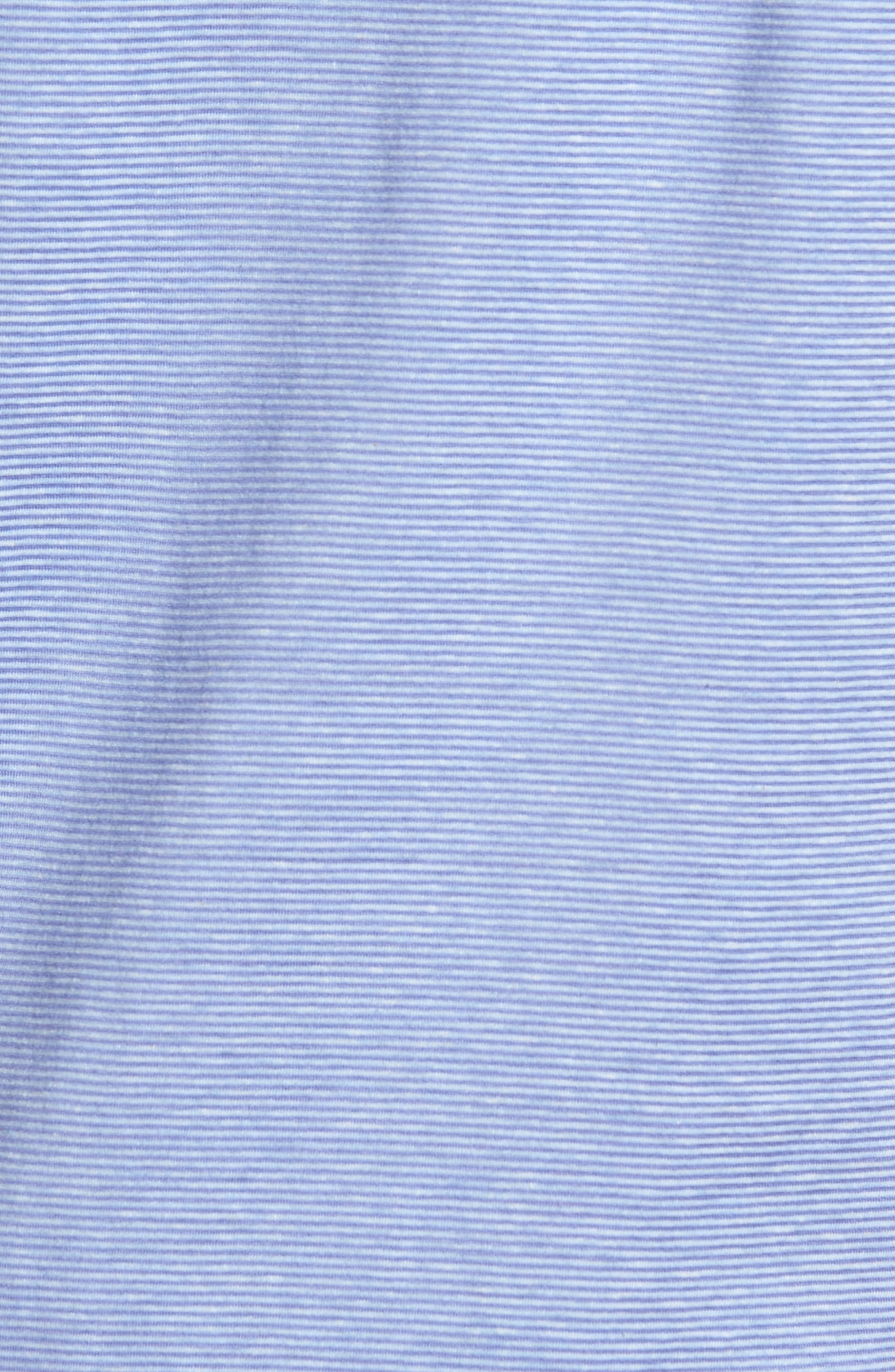 Regular Fit Knit Sport Shirt,                             Alternate thumbnail 5, color,                             Lilac