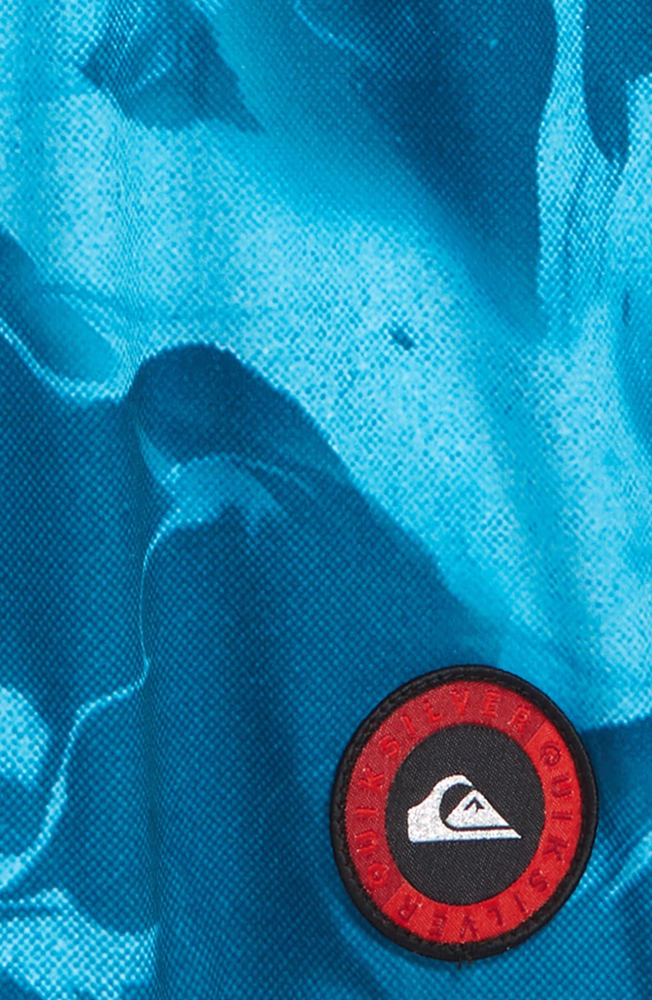 Highline Variable Board Shorts,                             Alternate thumbnail 3, color,                             Real Teal