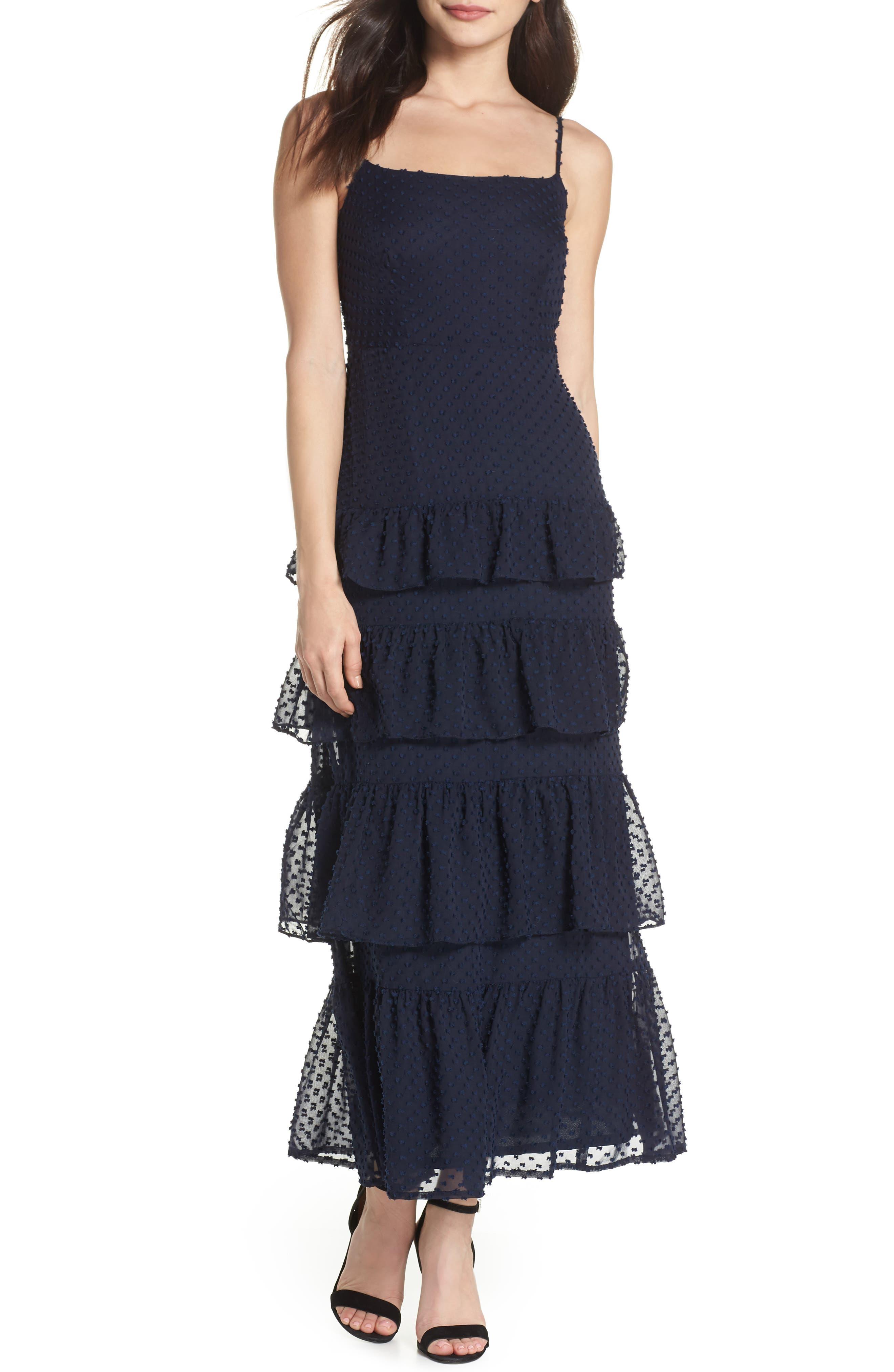Dabble Dress,                         Main,                         color, Navy
