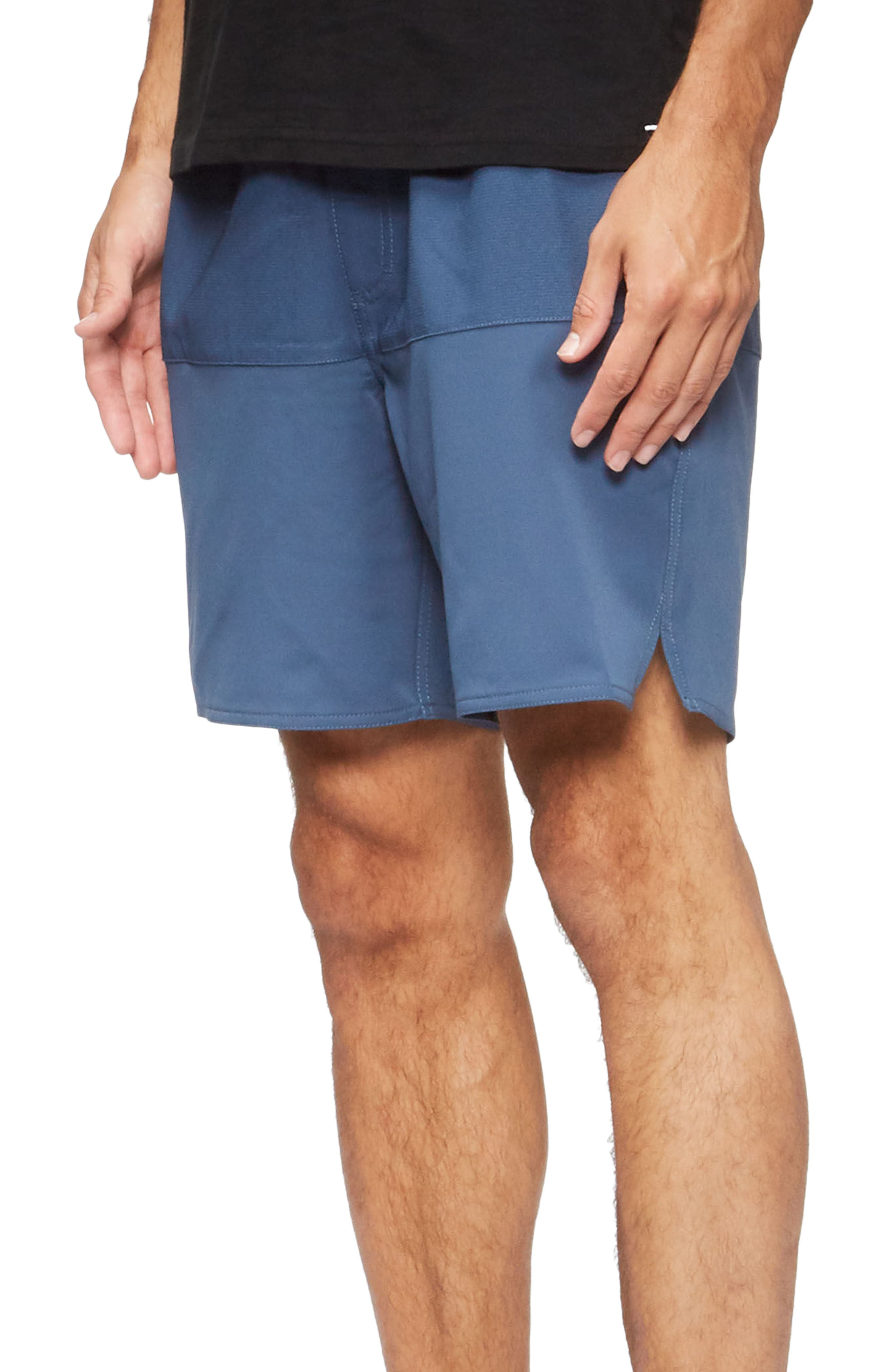 Lido Performance Shorts,                             Alternate thumbnail 3, color,                             True Blue