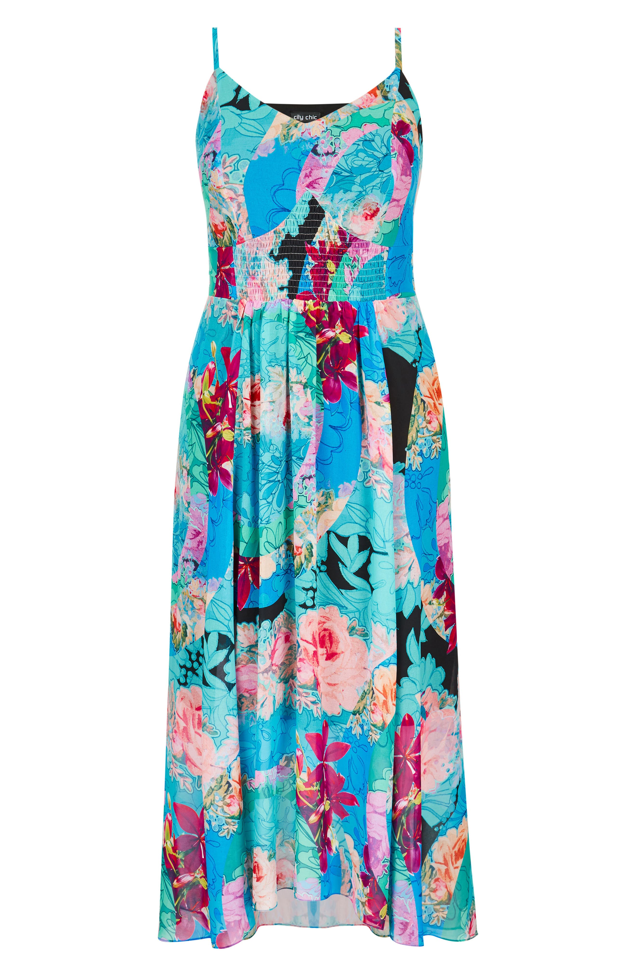 Looking Glass Maxi Dress,                             Alternate thumbnail 3, color,                             Looking Glass