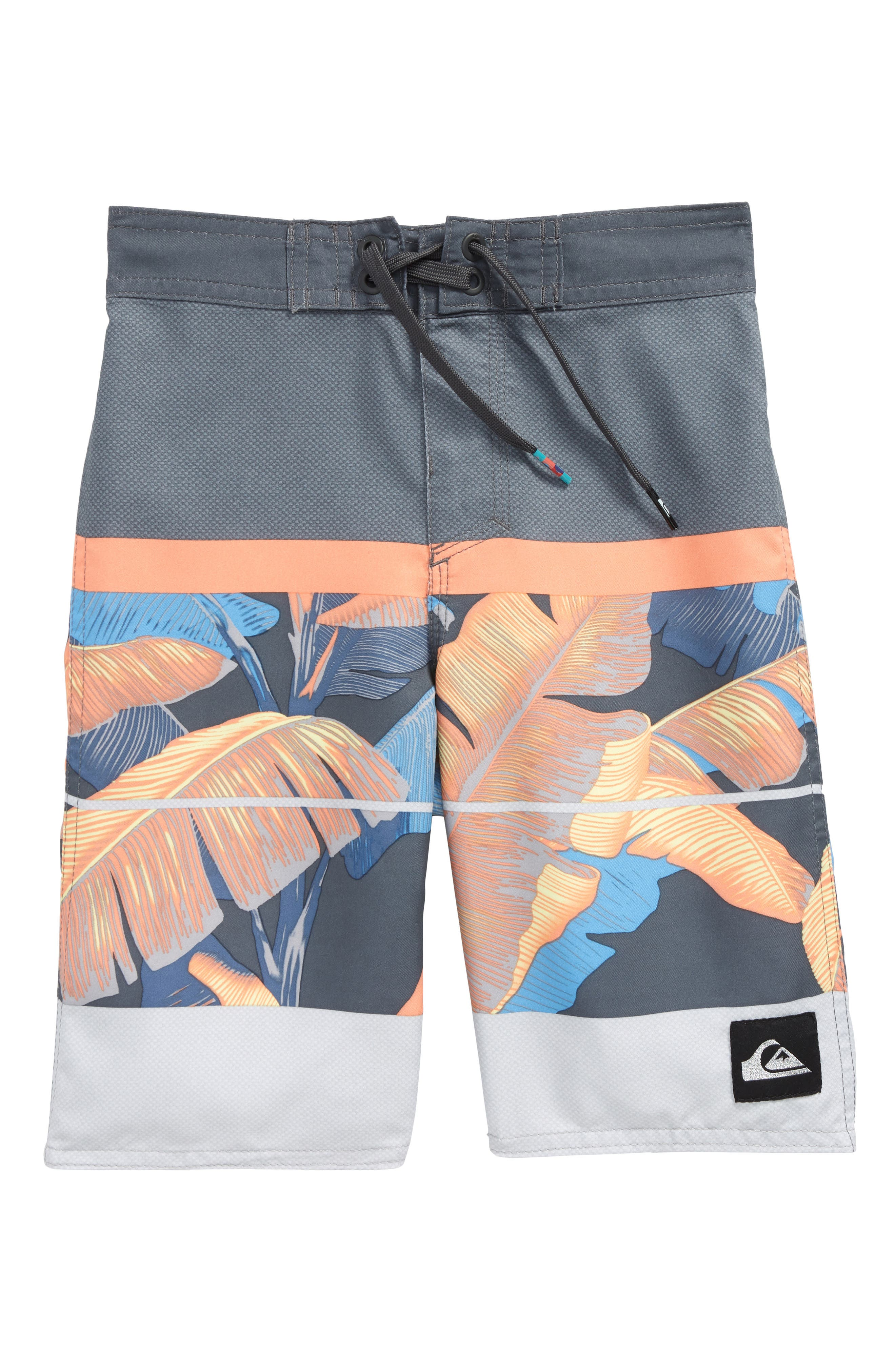 Alternate Image 1 Selected - Quiksilver Slab Island Board Shorts (Toddler Boys & Little Boys)