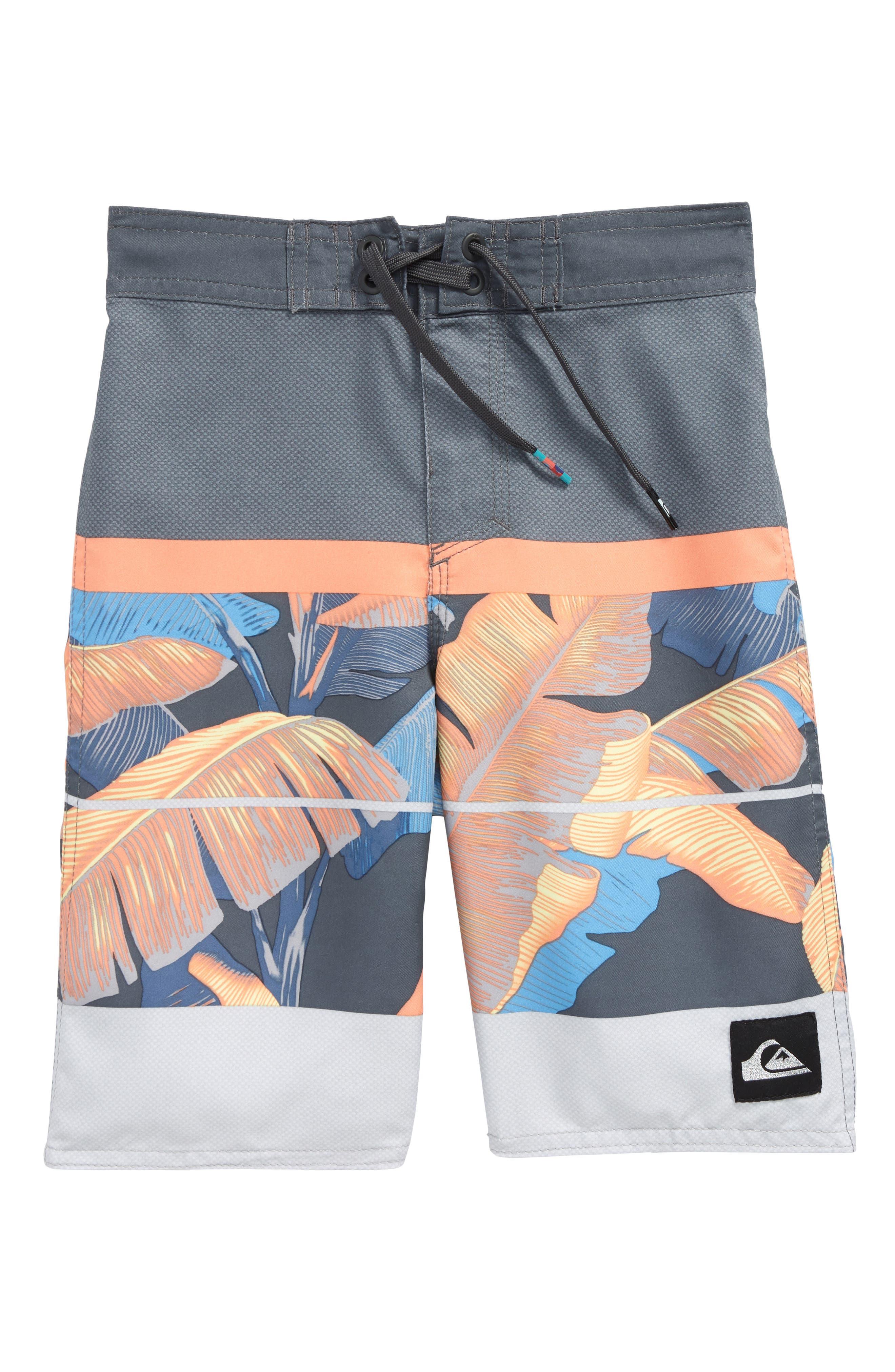 Slab Island Board Shorts,                         Main,                         color, Tarmac