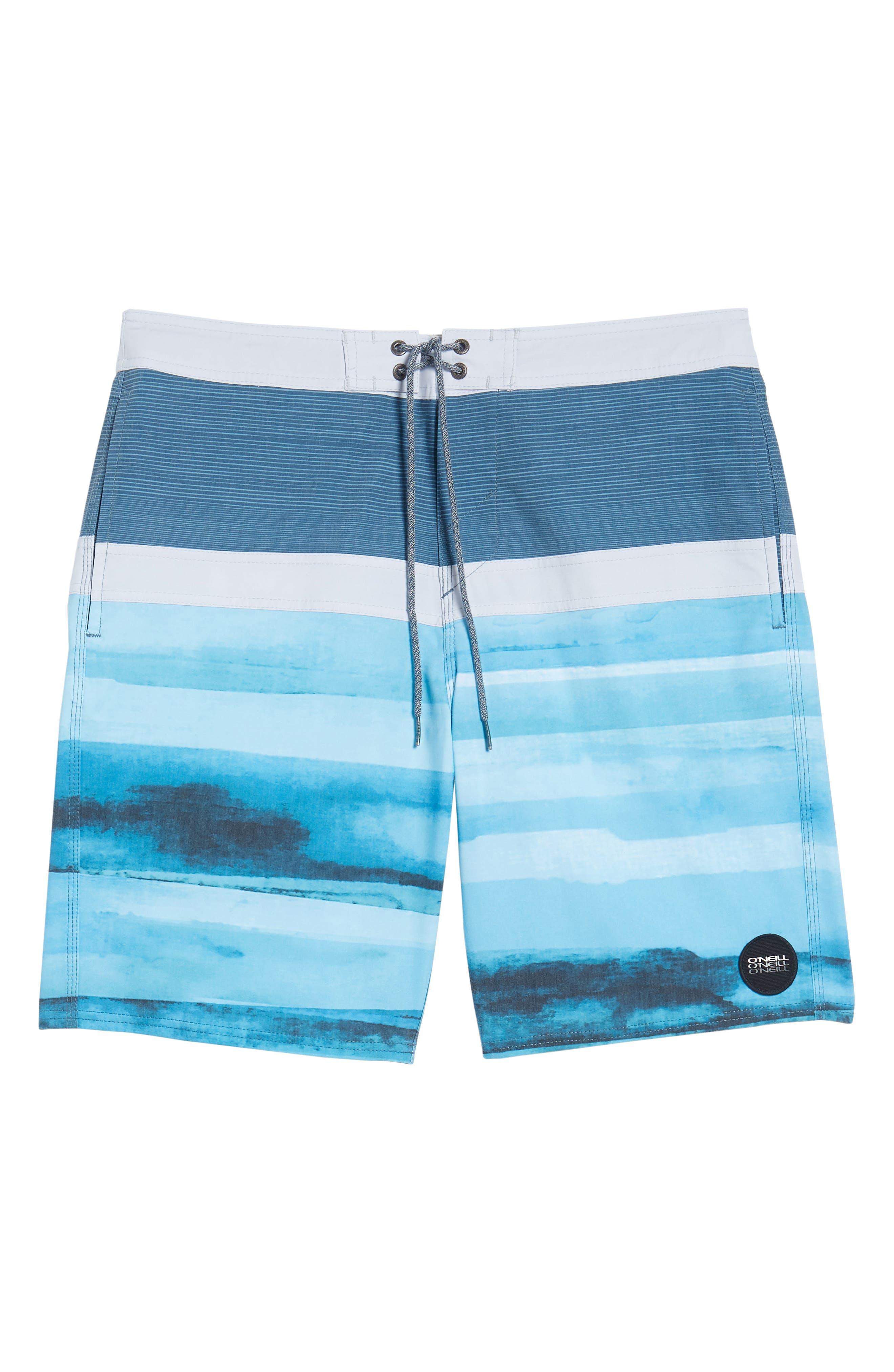Breaker Cruzer Board Shorts,                             Alternate thumbnail 6, color,                             Ocean