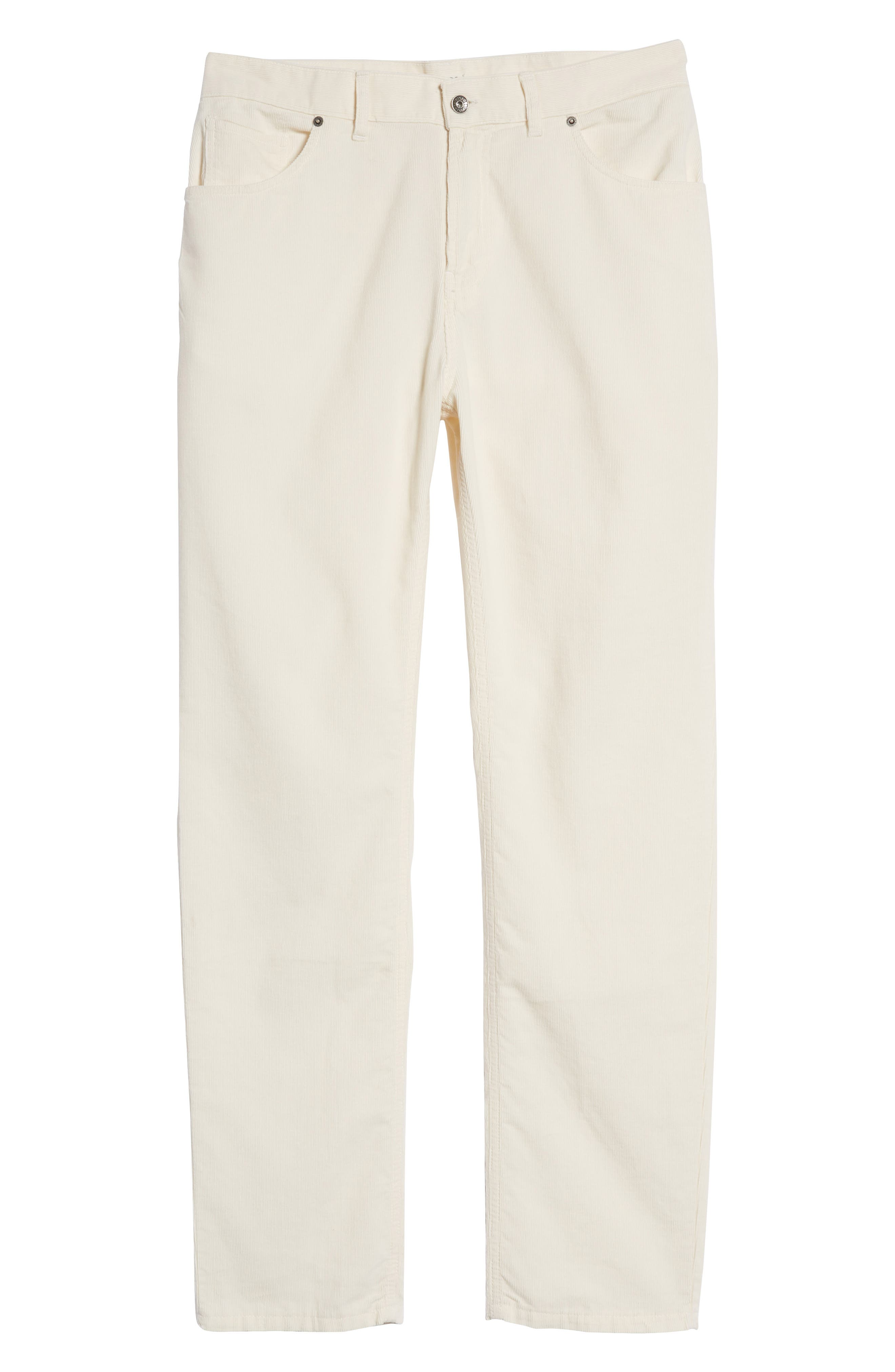 Q Cord Trousers,                             Alternate thumbnail 6, color,                             Natural
