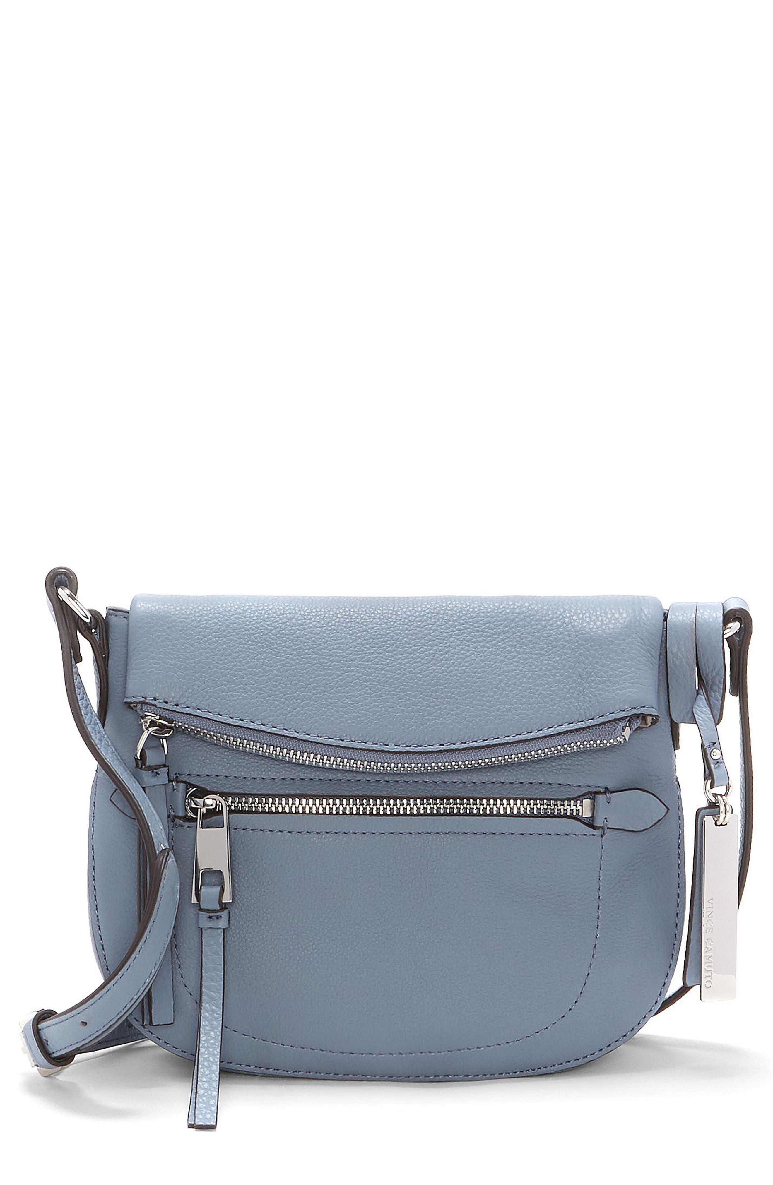 Vince Camuto Tala Small Leather Crossbody Bag