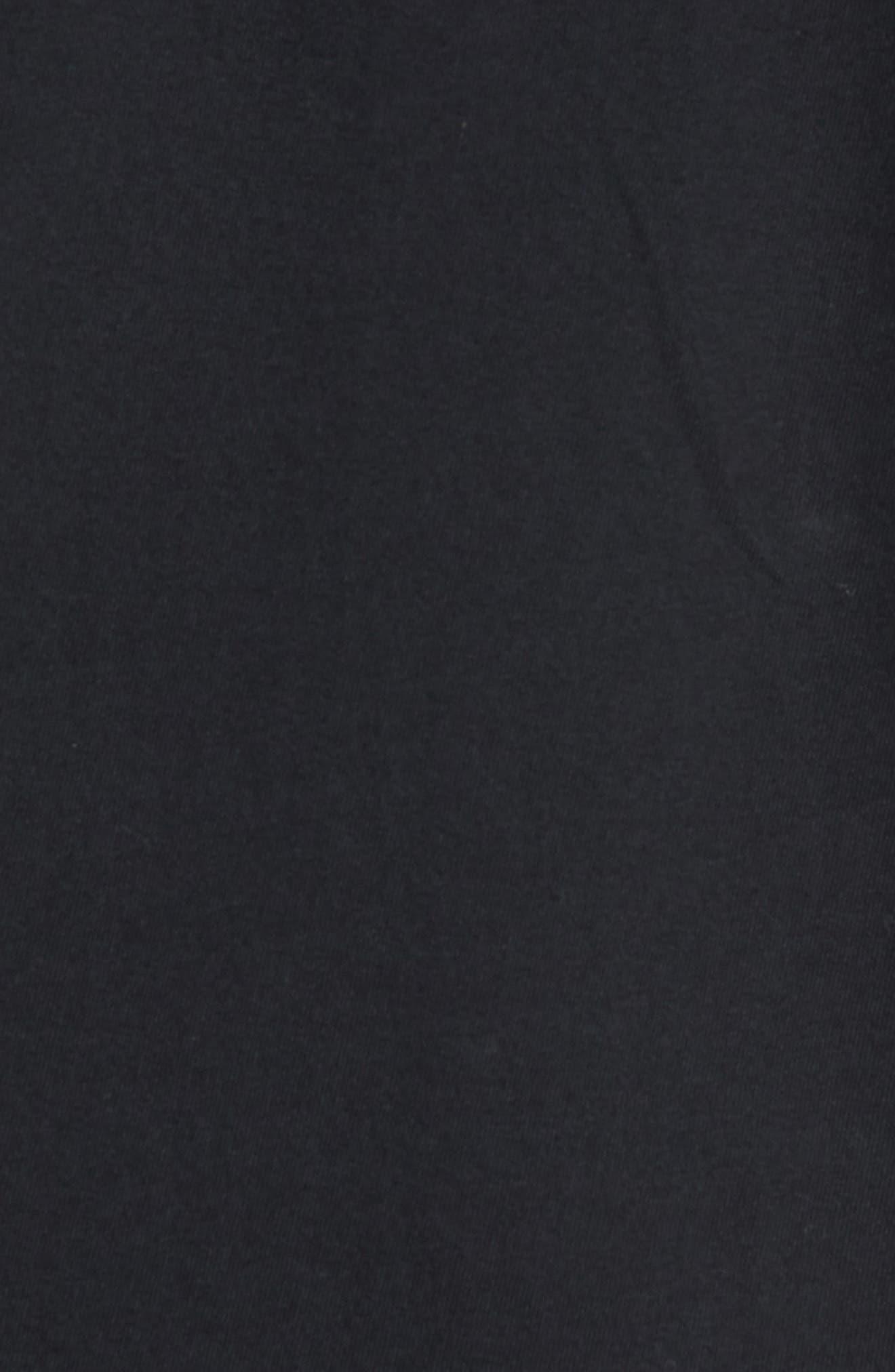 I'm Lucky Graphic T-Shirt,                             Alternate thumbnail 5, color,                             Black Tee Leprechaun