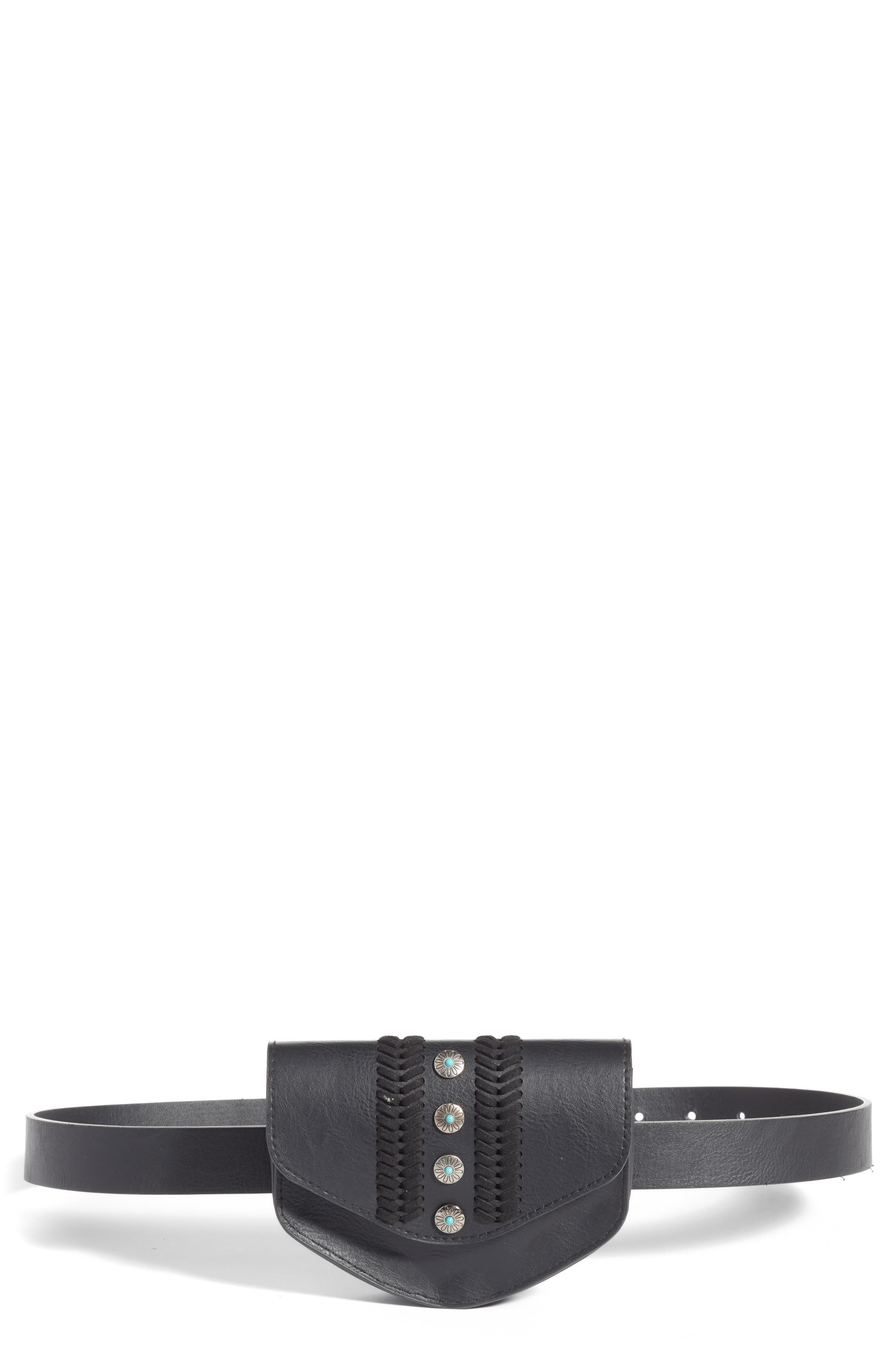 BP. Western Detail Faux Leather Belt Bag