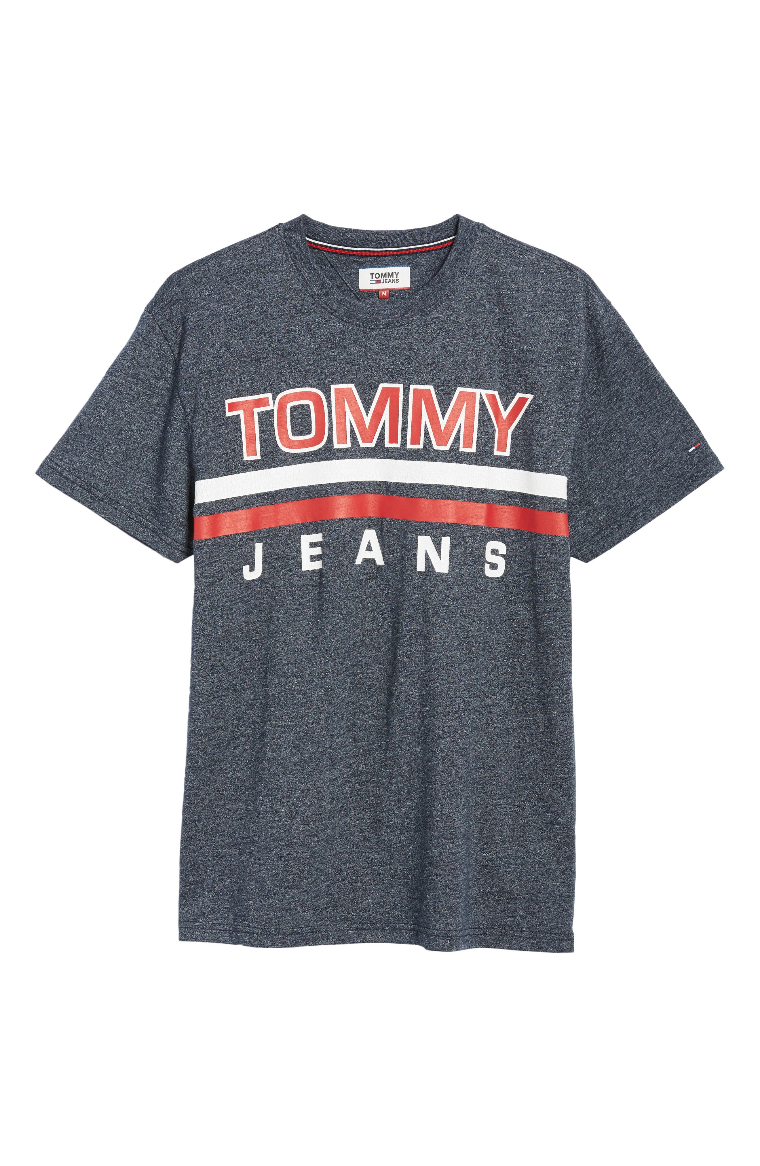 Alternate Image 6  - TOMMY JEANS Stripe Graphic T-Shirt