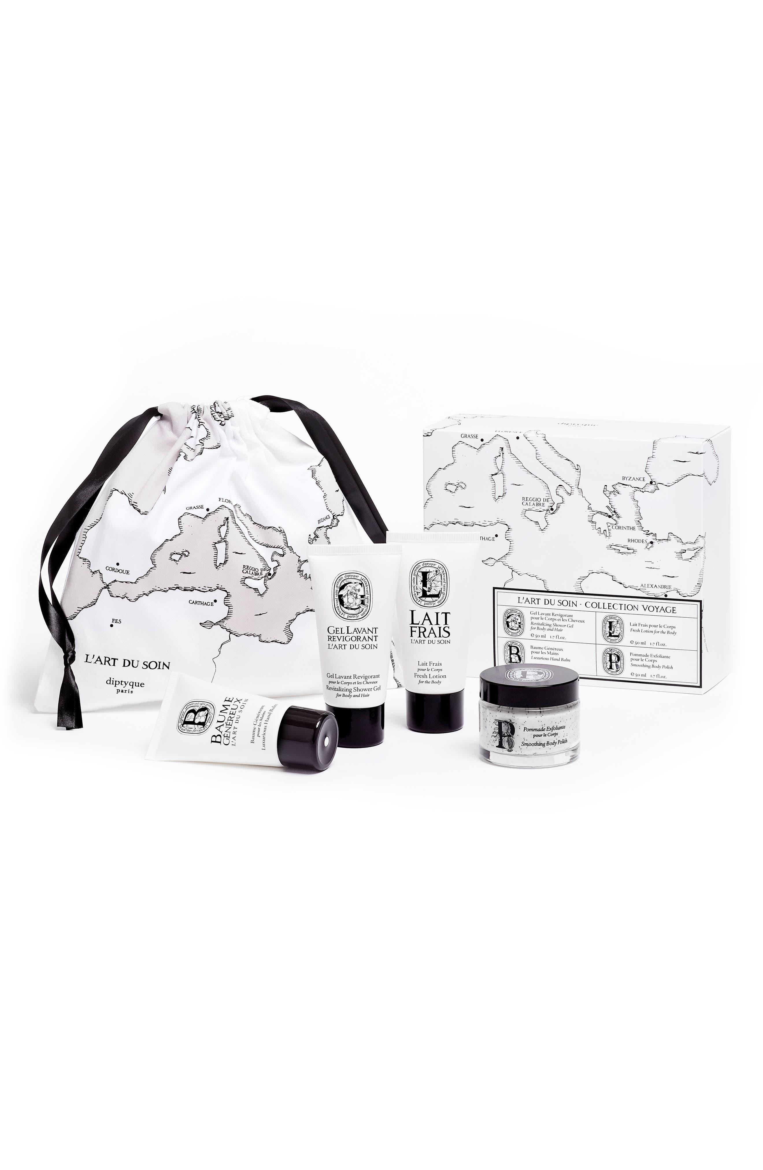 L'Art du Soin Travel Kit,                         Main,                         color, No Color