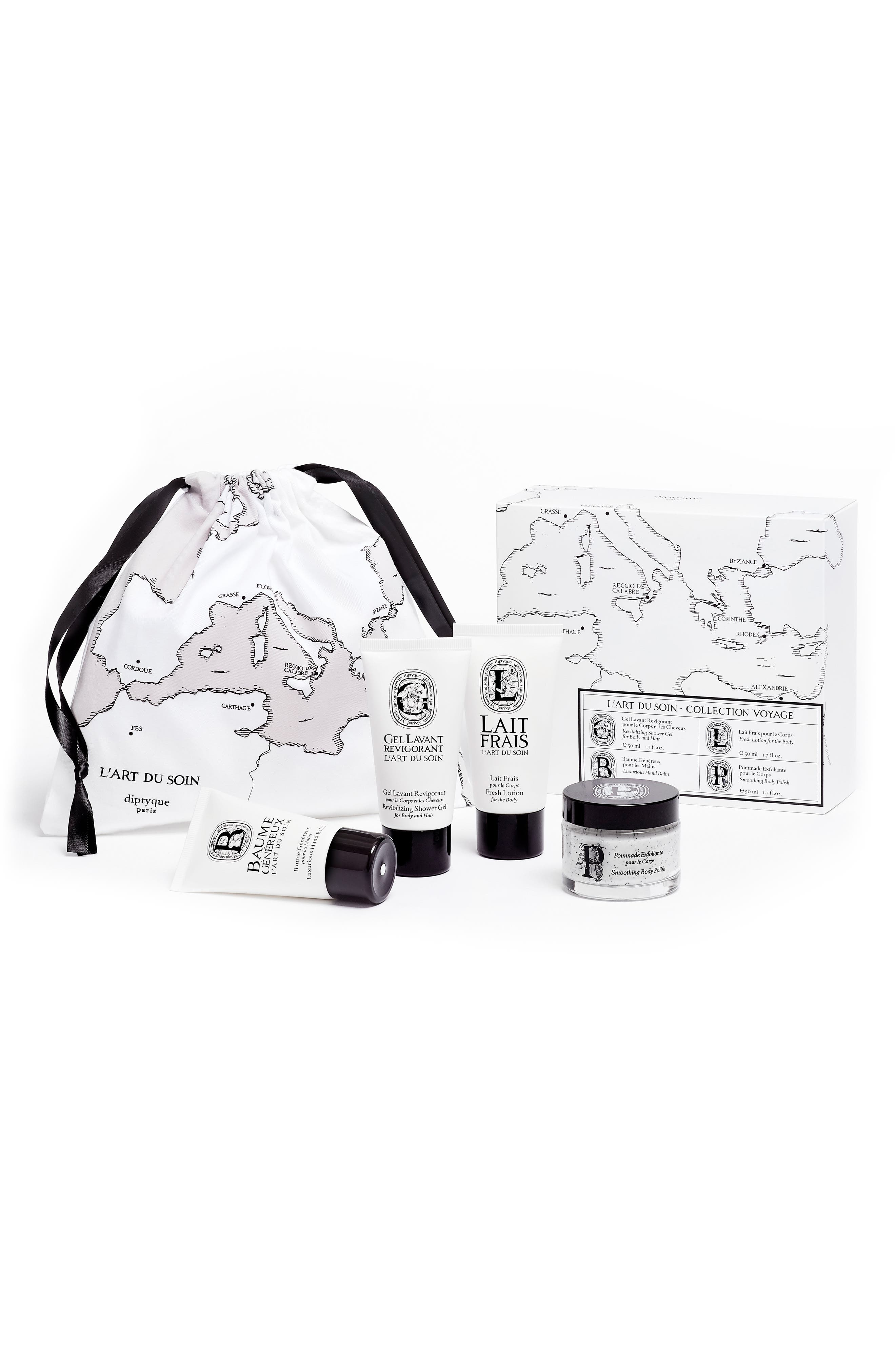 diptyque L'Art du Soin Travel Kit