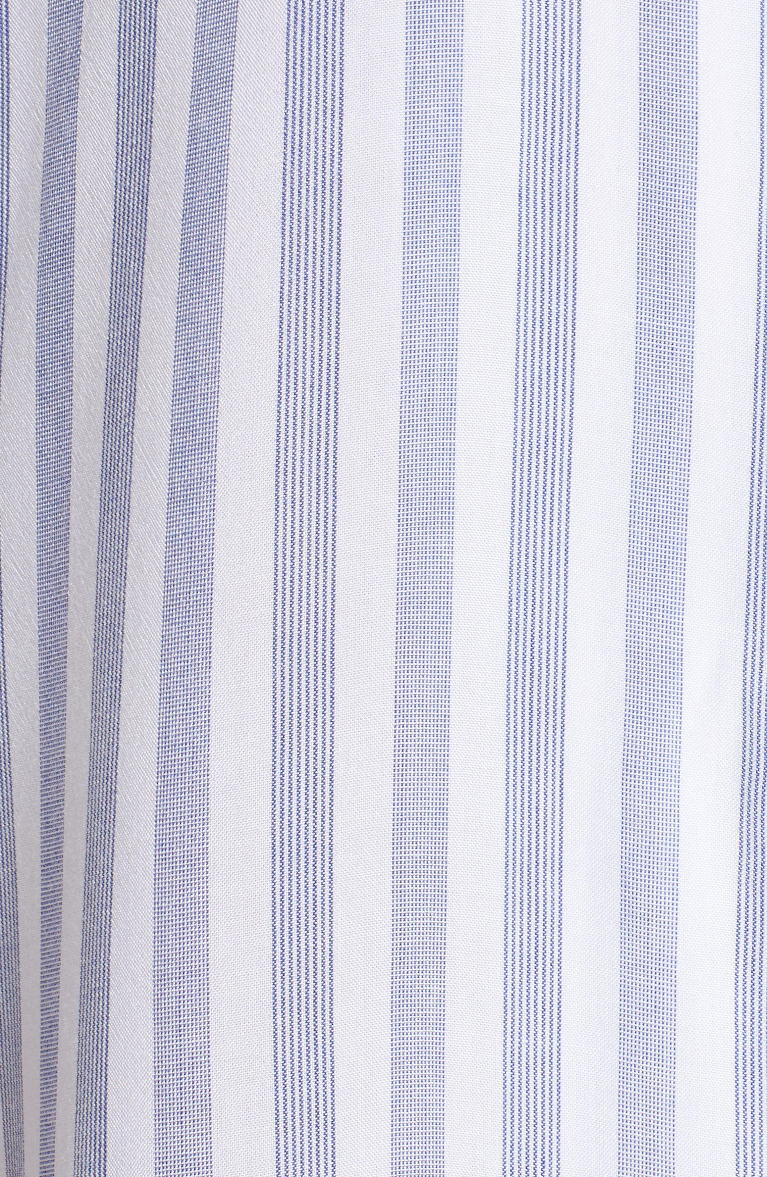 Stripe Nightshirt,                             Alternate thumbnail 6, color,                             Bermuda Stripe