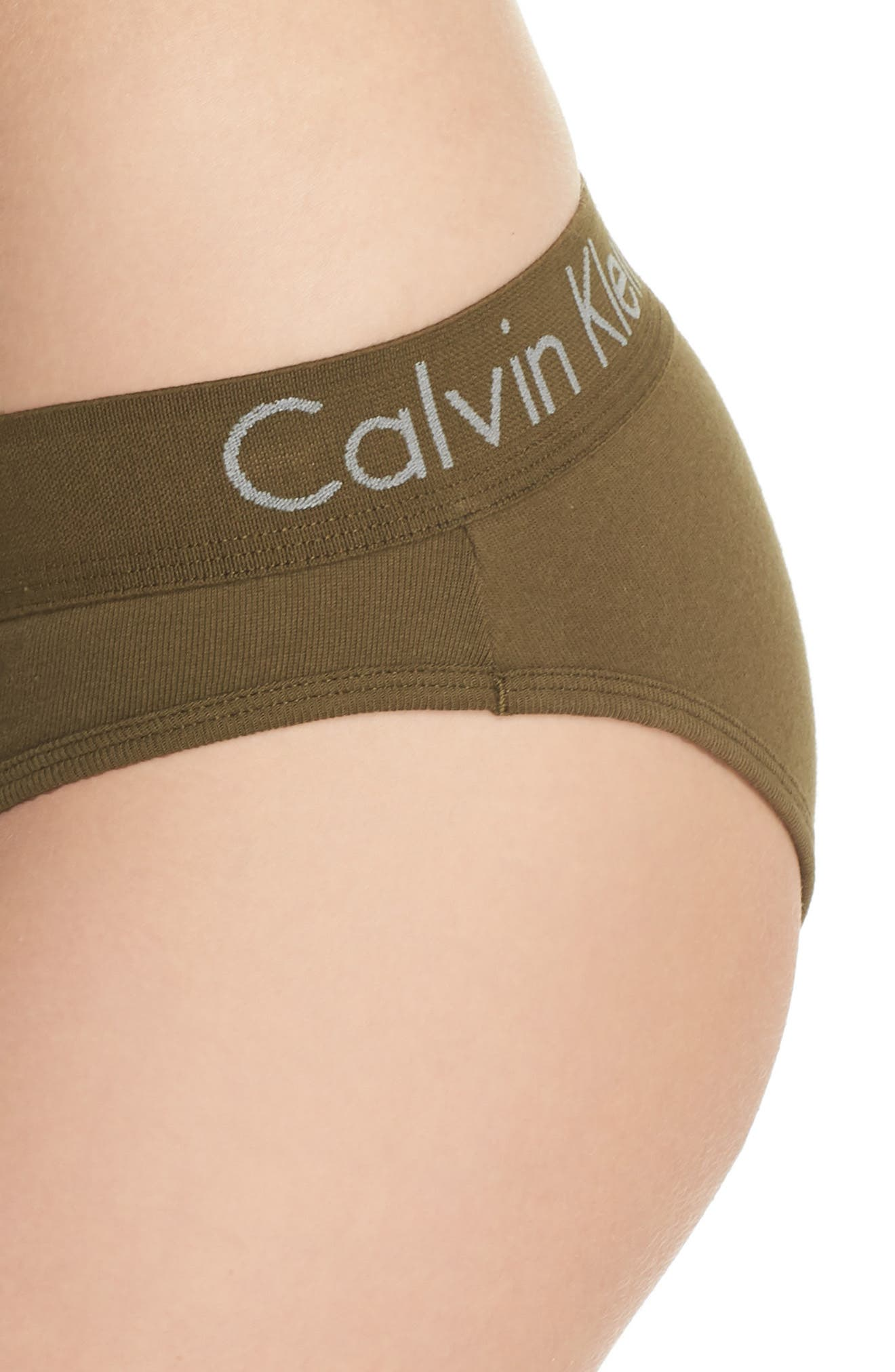 Alternate Image 8  - Calvin Klein Body Cotton Bikini