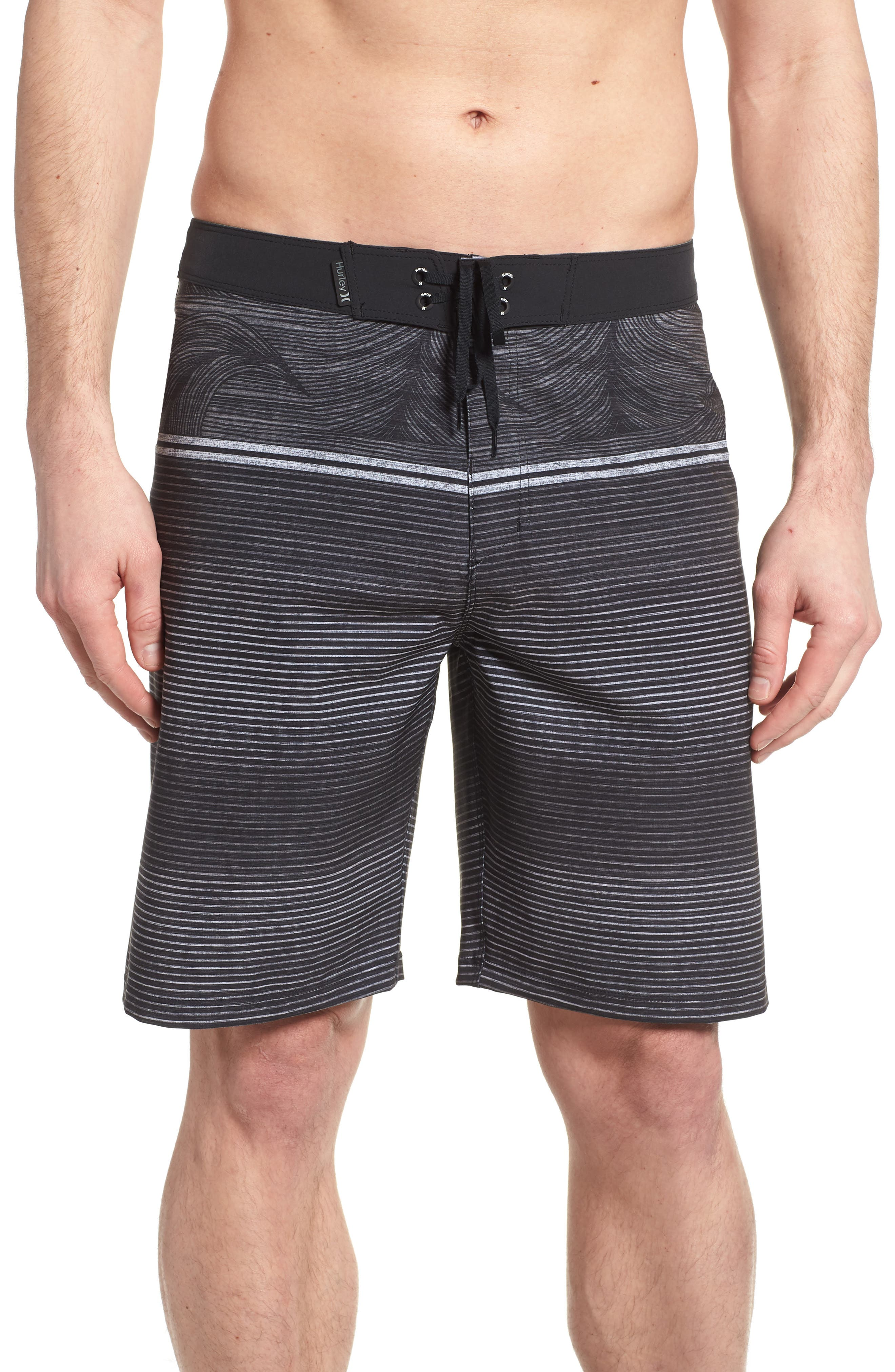 Phantom Sunset Board Shorts,                         Main,                         color, Black