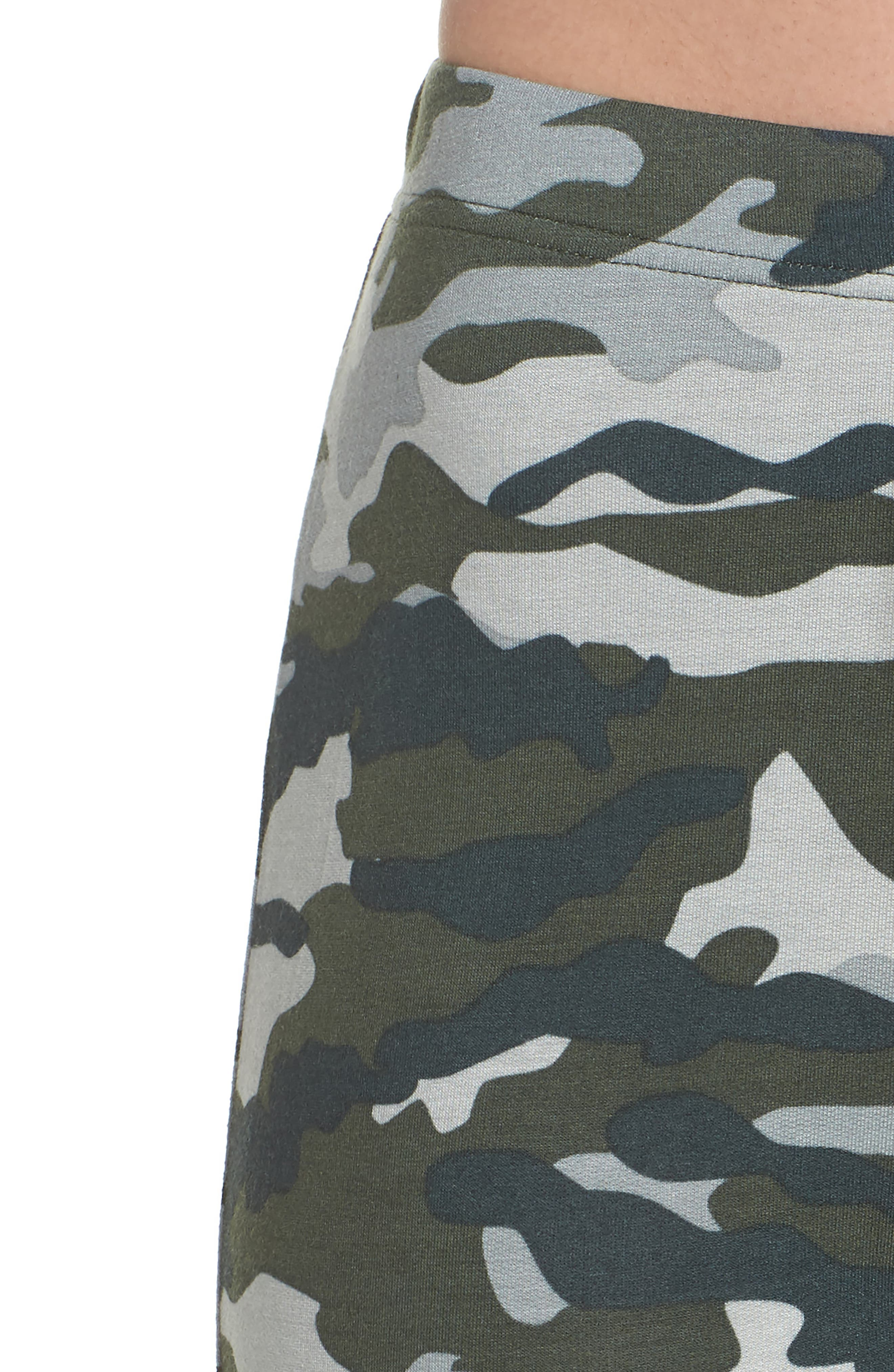 Kickin' It French Terry Lounge Pants,                             Alternate thumbnail 5, color,                             Army