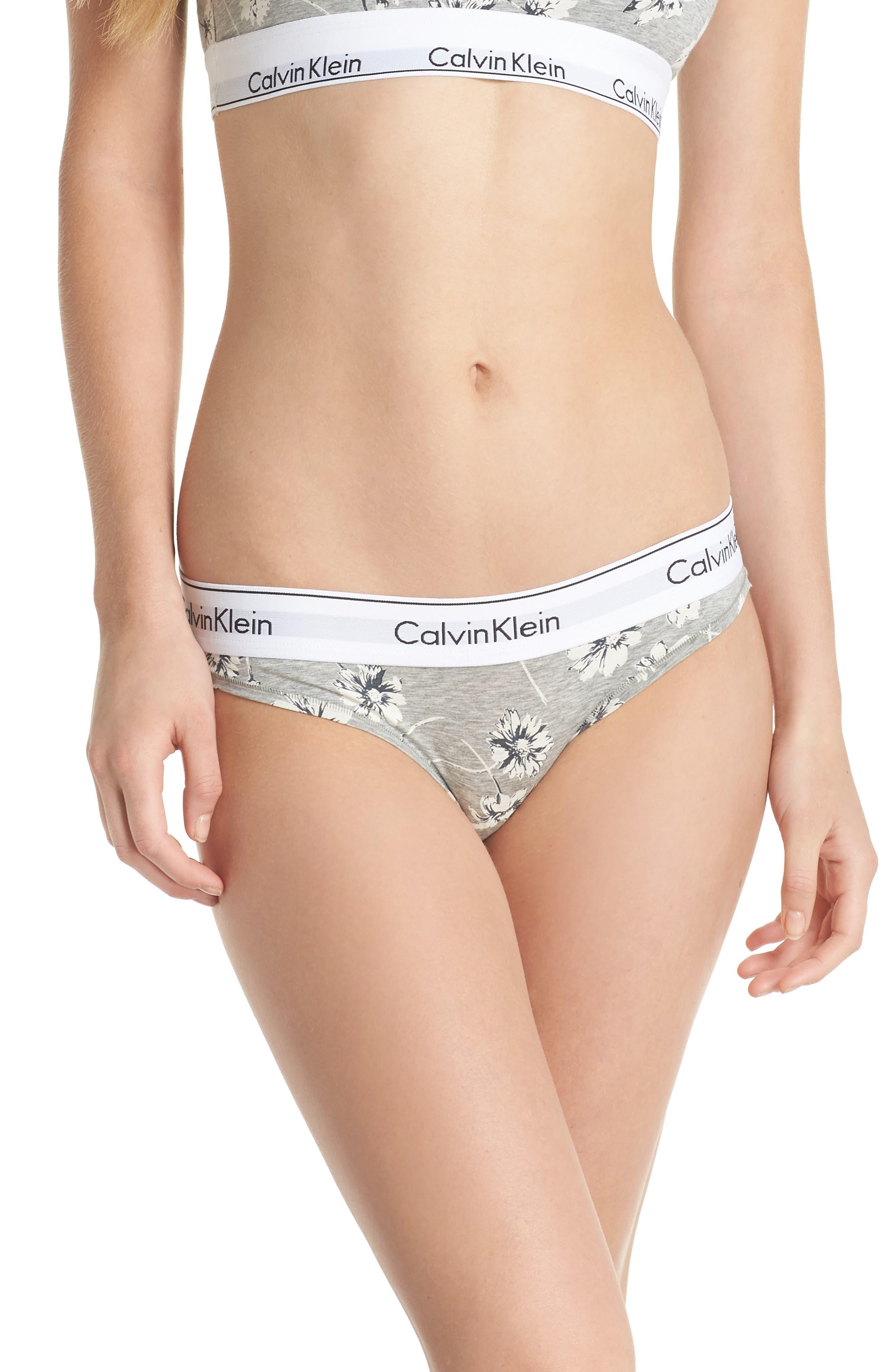 Calvin Klein 'Modern Cotton Collection' Cotton Blend Bikini