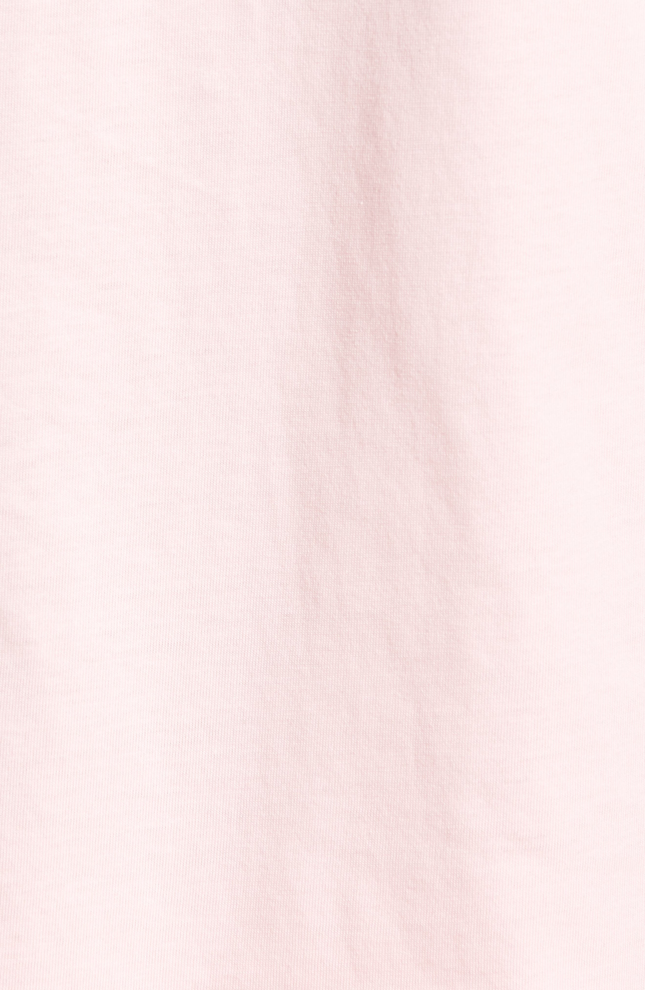 Embroidered T-Shirt,                             Alternate thumbnail 5, color,                             1991 Pink