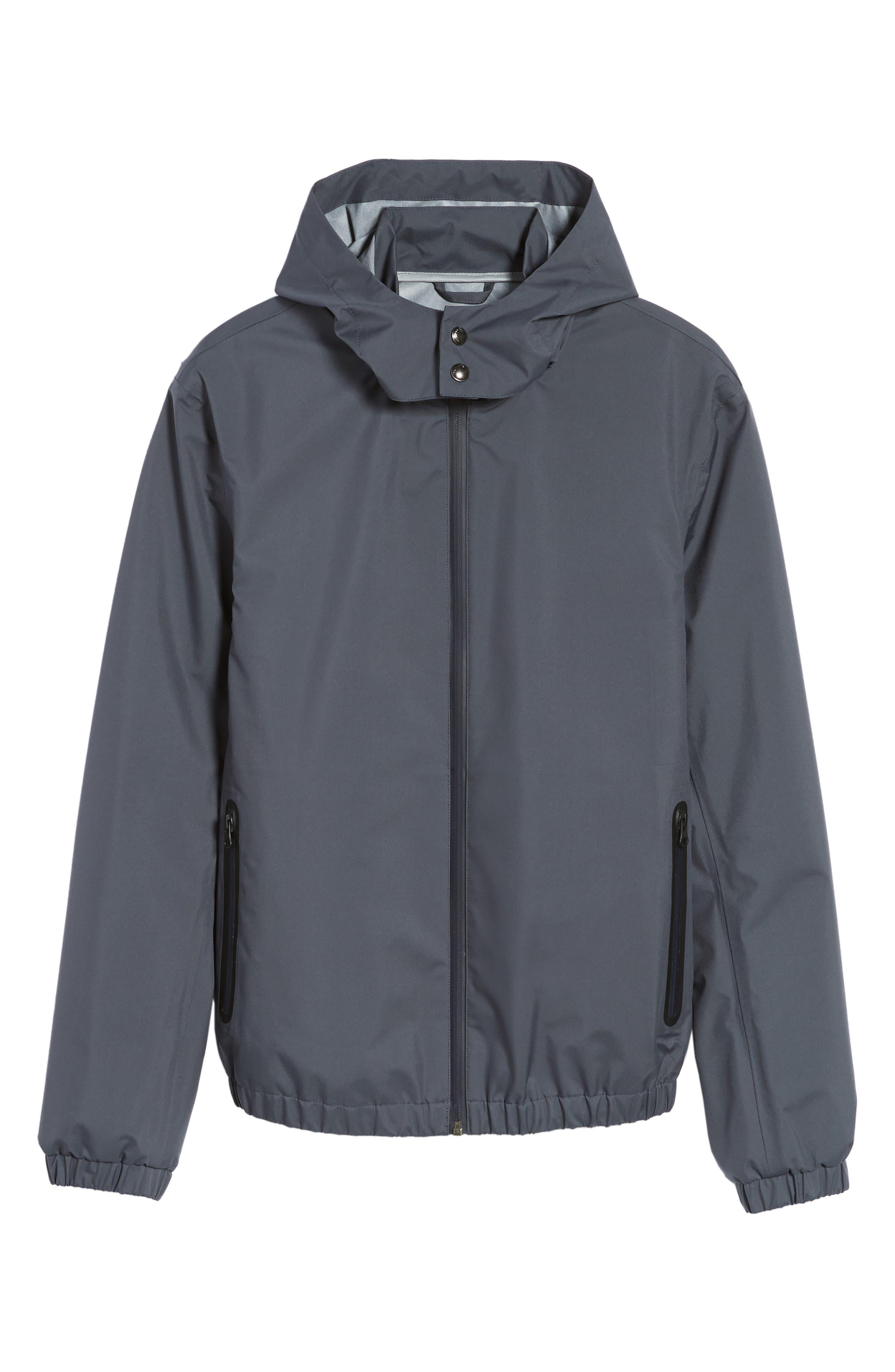 Regular Fit Jacket,                             Alternate thumbnail 6, color,                             Slate