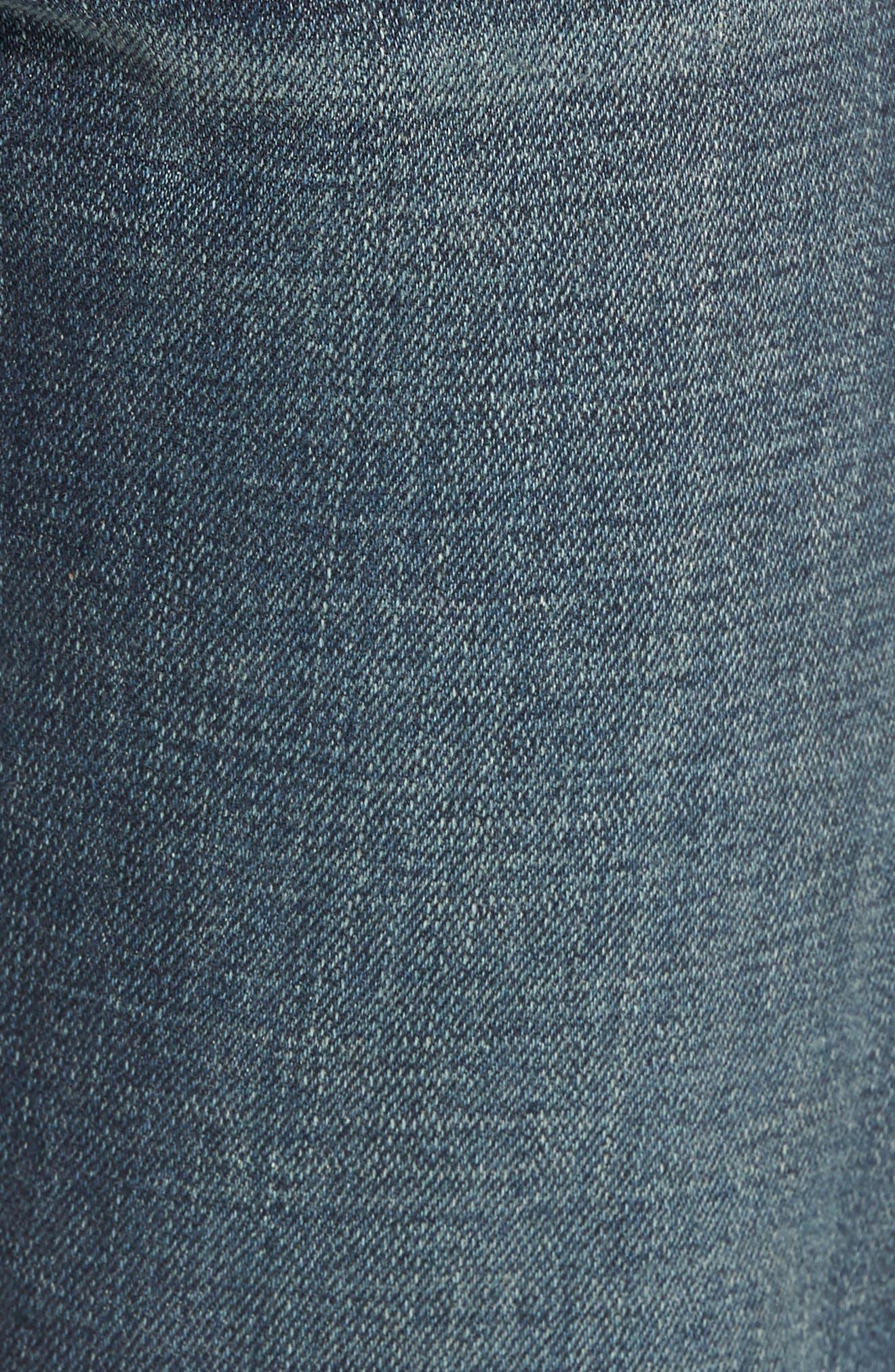 Mick Slim Straight Leg Jeans,                             Alternate thumbnail 5, color,                             Filmore