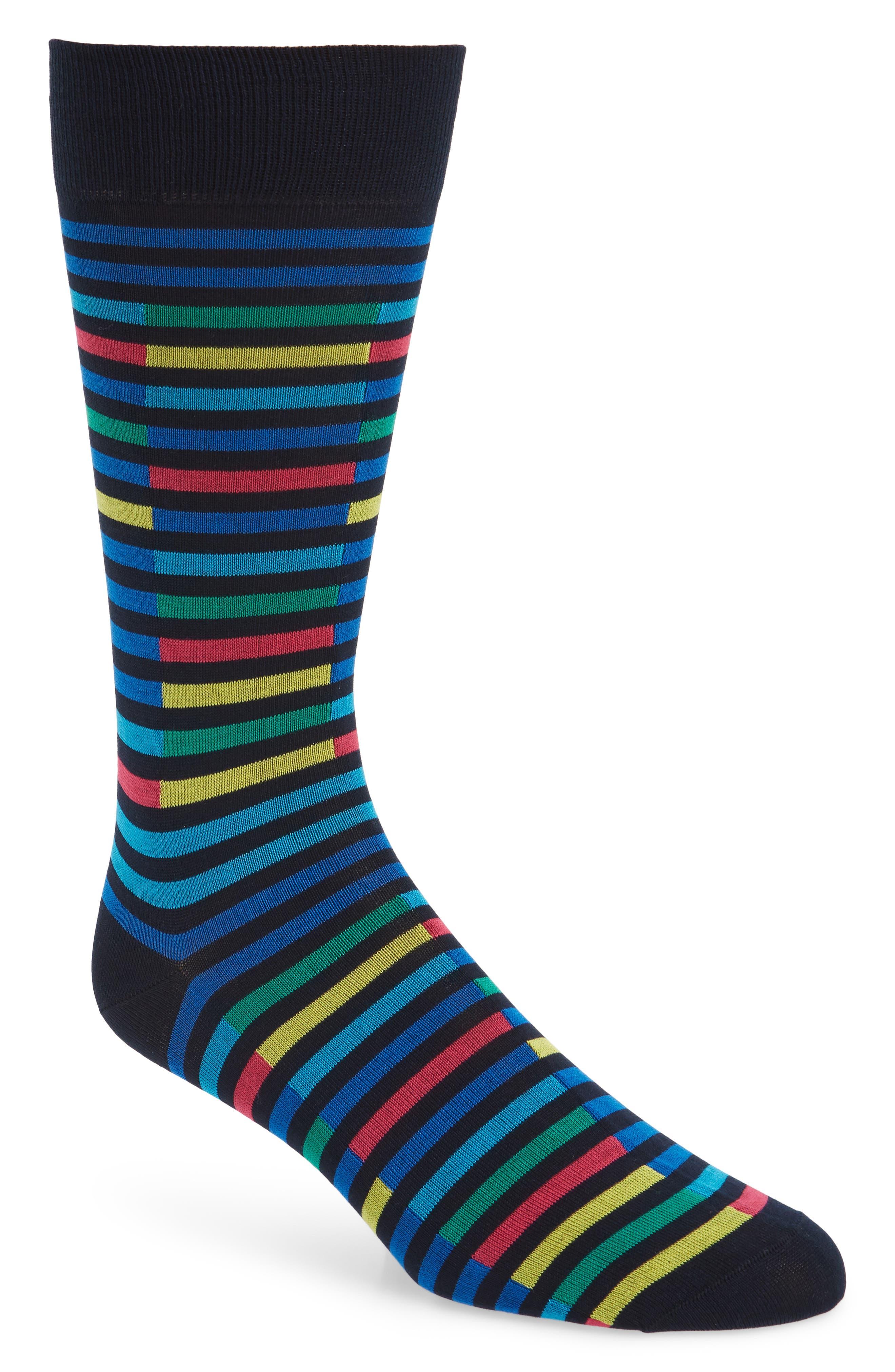 Pantherella Broken Stripe Socks