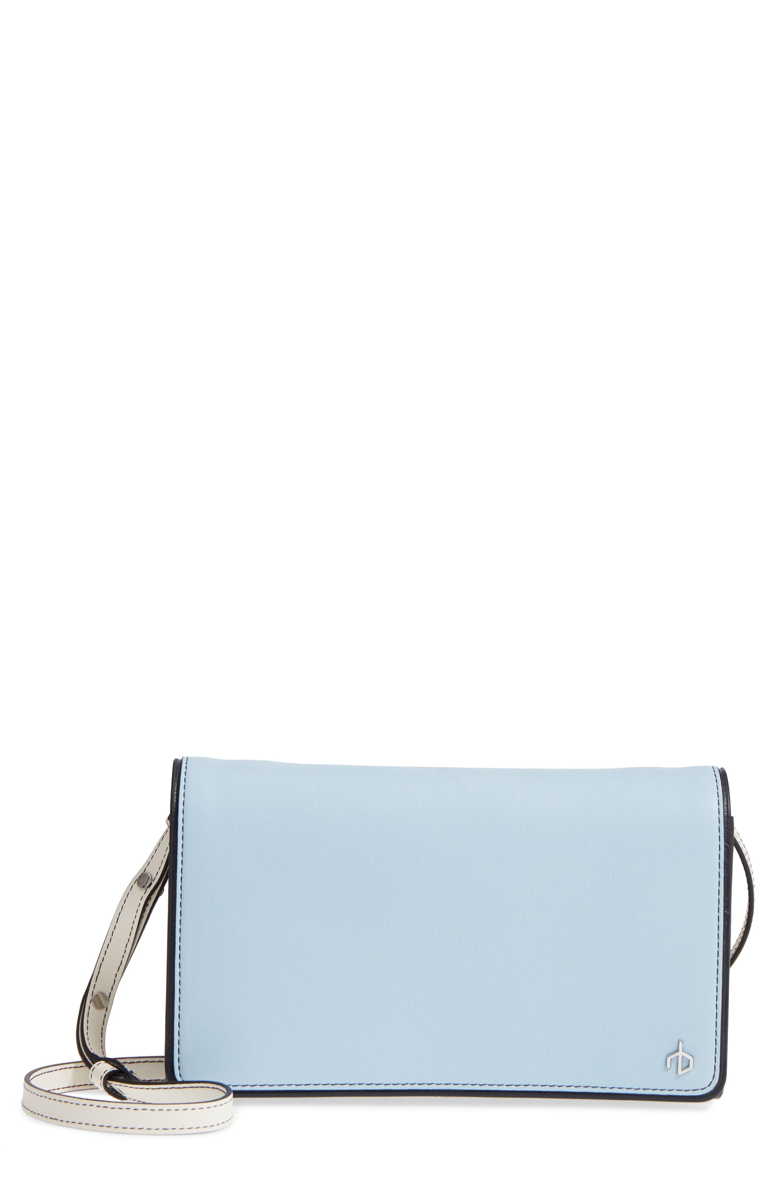 rag & bone Colorblock Leather Crossbody Wallet